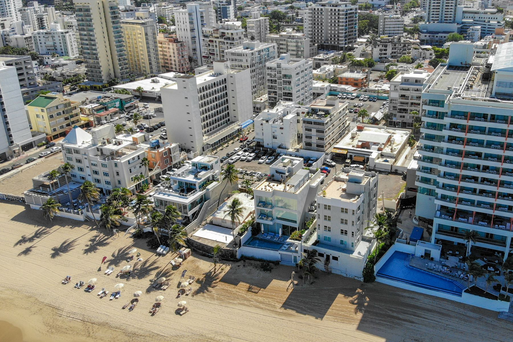 土地 為 出售 在 Oceanfront Lots in Prime Condado Beach Location 1126, 1127 Vendig and Seaview Street San Juan, 00907 波多黎各