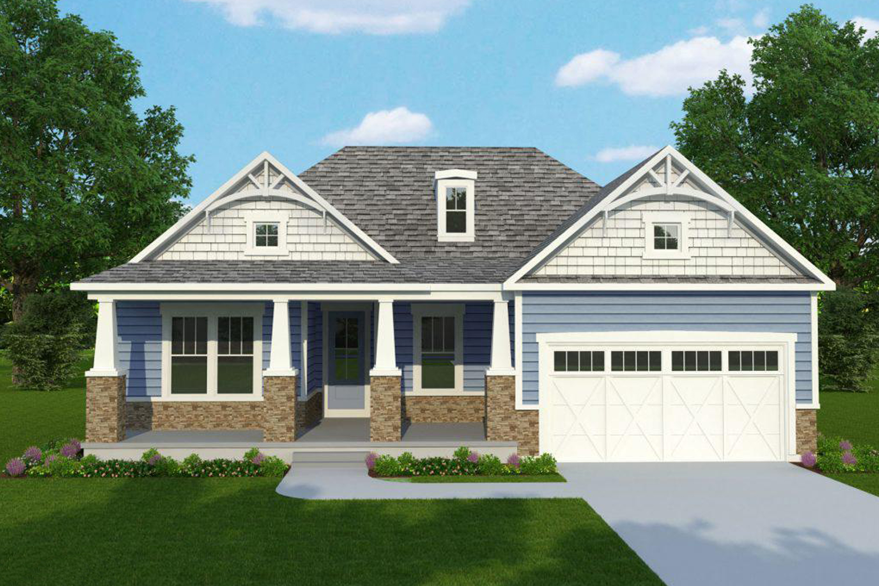 Single Family Homes for Active at 26052 Marys Lane Milton, Delaware 19968 United States