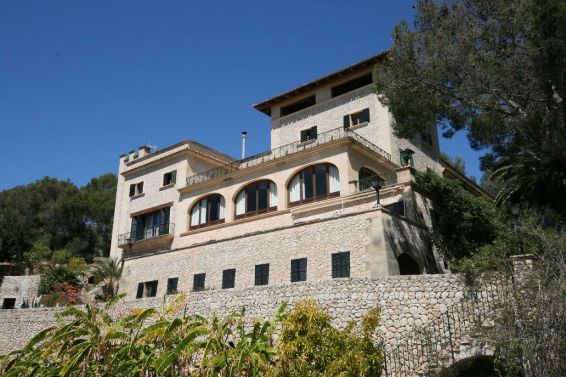 Single Family Home for Active at Manor house for with views of the bay of Palma de Mallorca Palma De Mallorca, Balearic Islands Spain