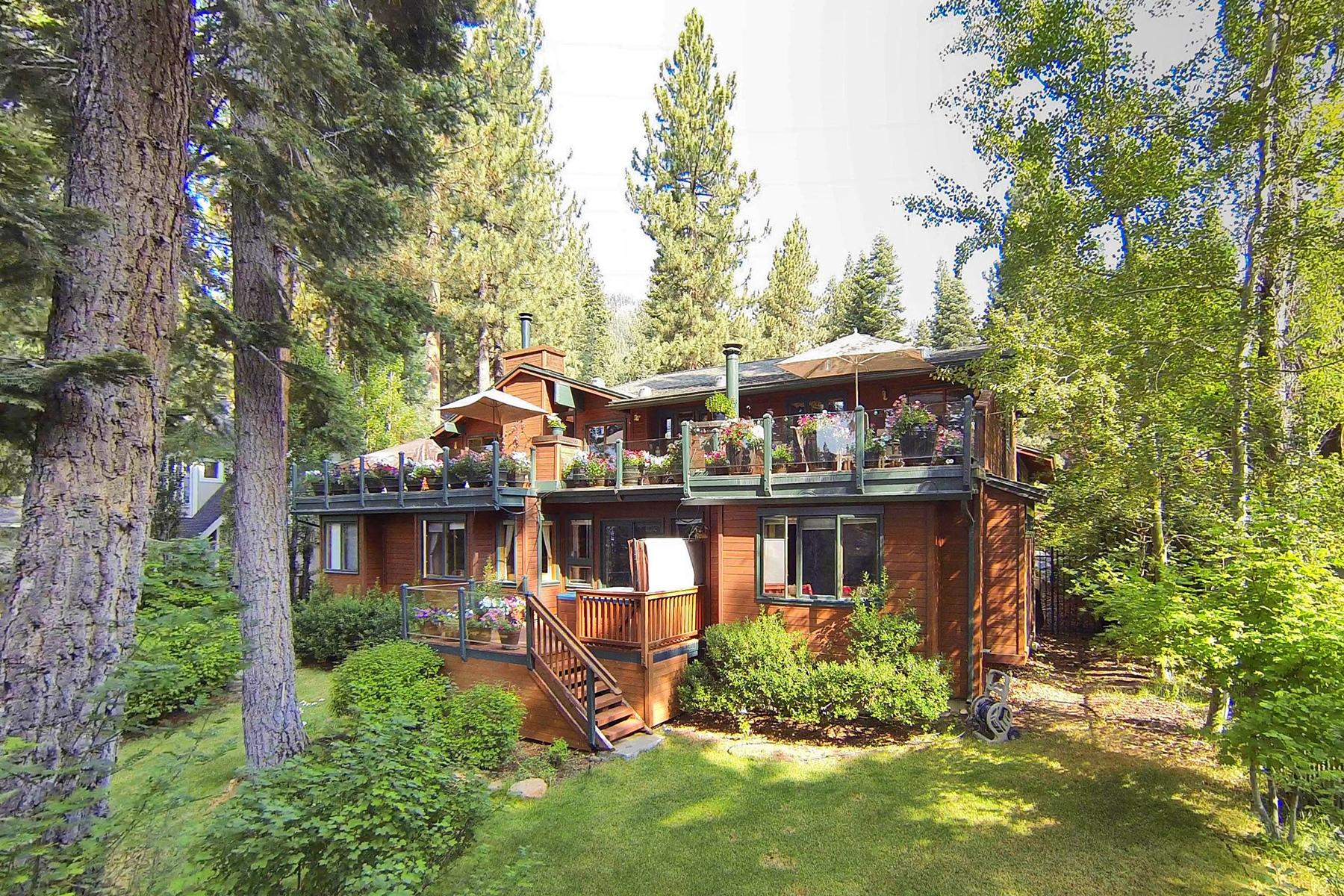 独户住宅 为 销售 在 697 Birdie Way Incline Village, 内华达州, 89451 Lake Tahoe, 美国
