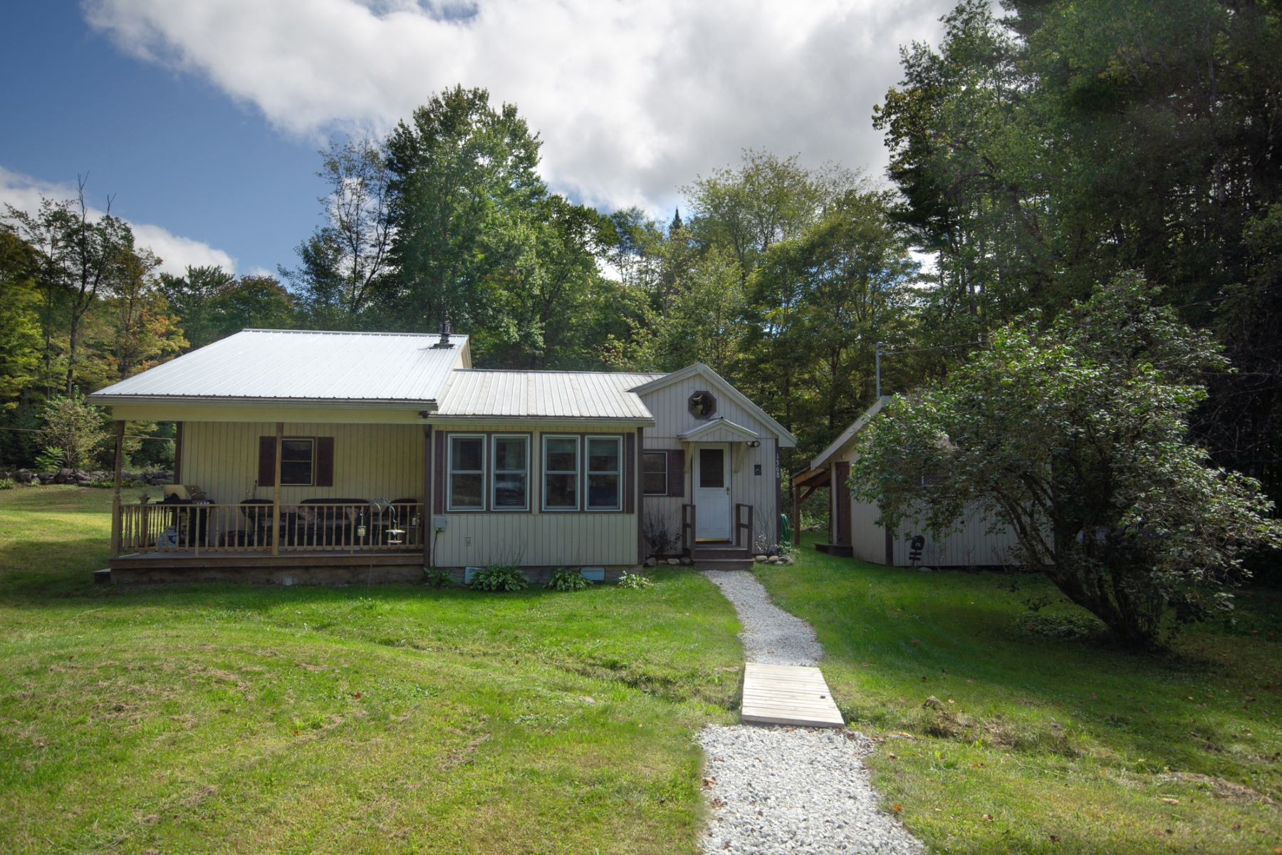 Single Family Homes for Sale at Two Bedroom Bungalow in Bradford 1368 Flanders Brook Rd Bradford, Vermont 05033 United States