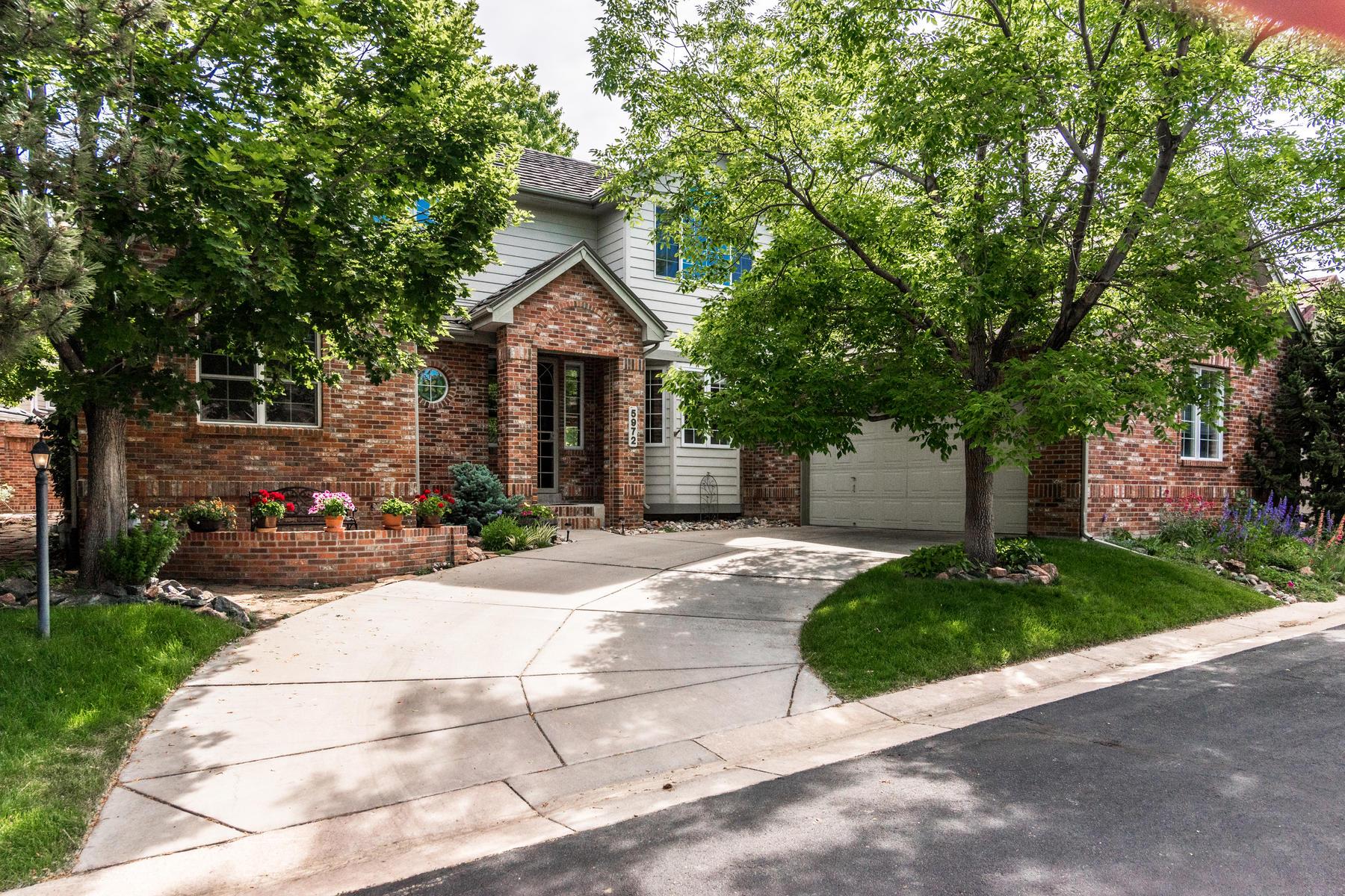Single Family Homes για την Πώληση στο Village on the Meadow 5972 S Bellaire Way, Centennial, Κολοραντο 80121 Ηνωμένες Πολιτείες