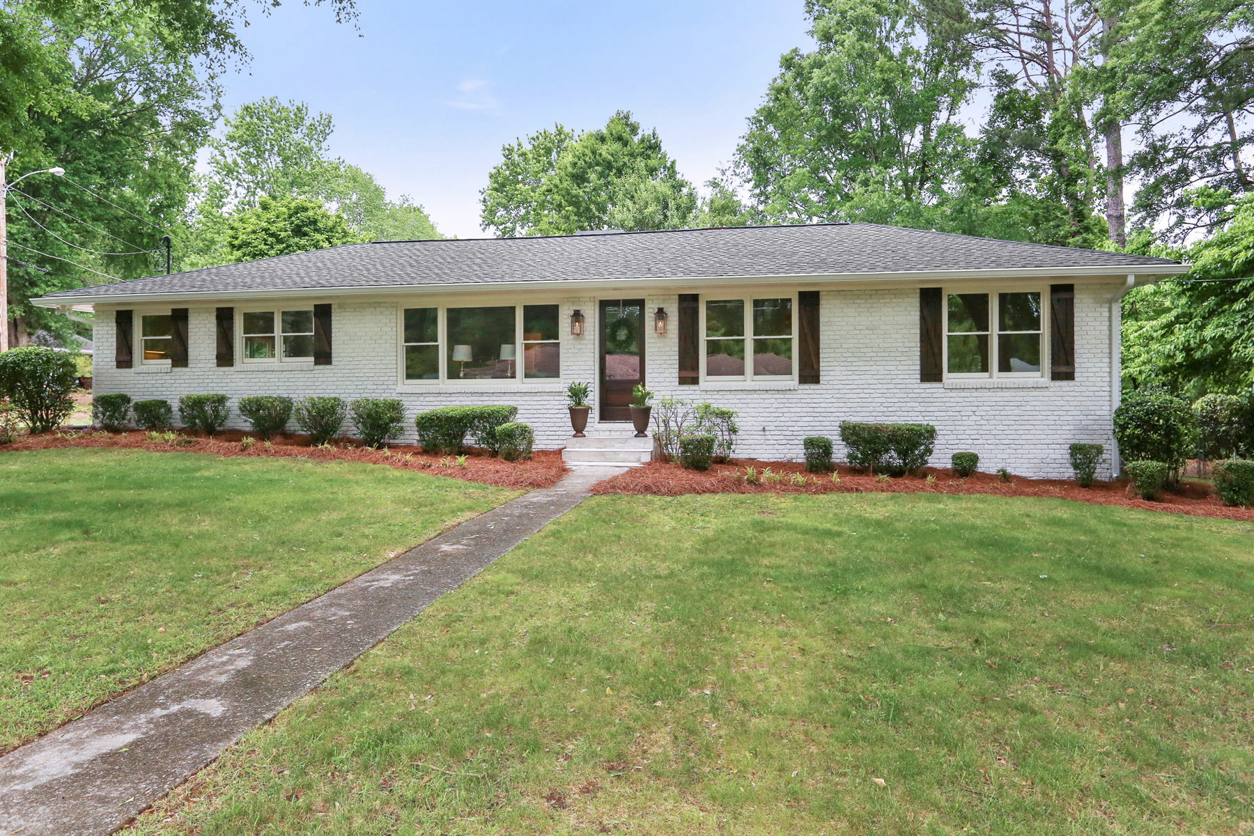 Single Family Home for Sale at Complete Renovation In Downtown Alpharetta 245 Meadow Dr Alpharetta, Georgia 30009 United States