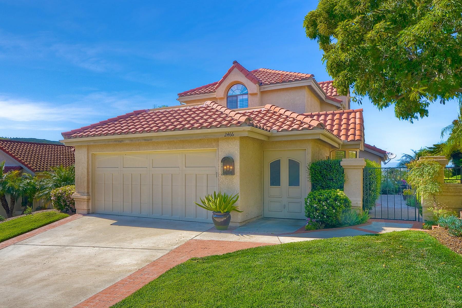 一戸建て のために 売買 アット 2644 Vista Valley Lane 2466 Vista Valley Lane Vista, カリフォルニア, 92084 アメリカ合衆国