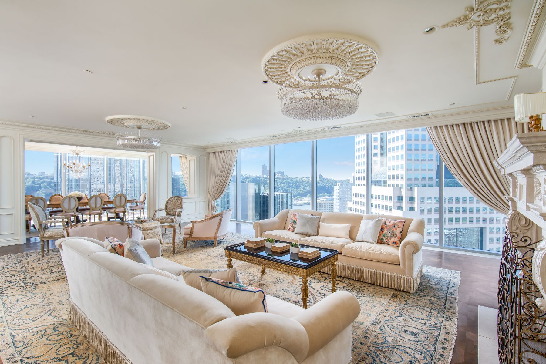 Condominiums for Sale at The Penthouse at the Residences 550 Market Street, Pittsburgh, Pennsylvania 15222 United States