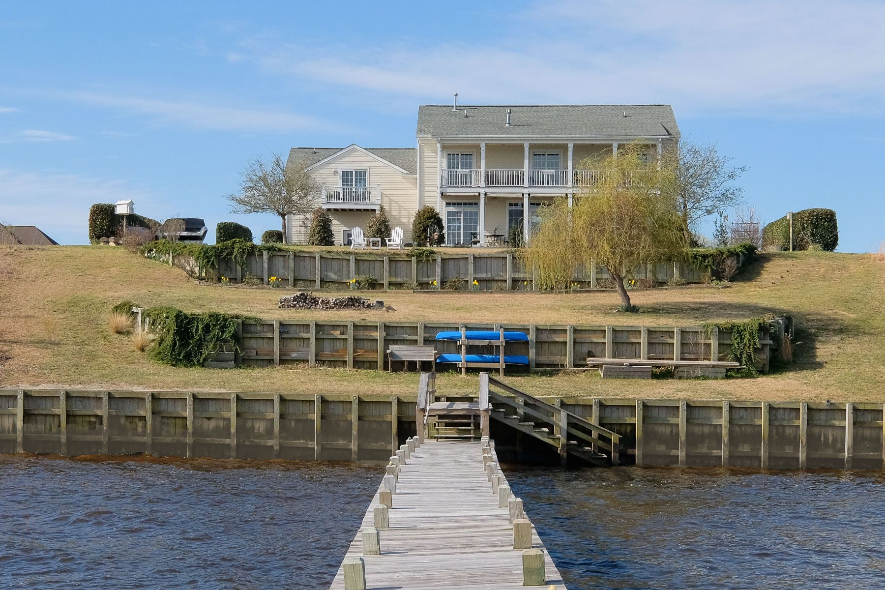 Single Family Home for Sale at Coastal Southern Riverfront 116 N Shore Drive Merry Hill, North Carolina, 27957 United States