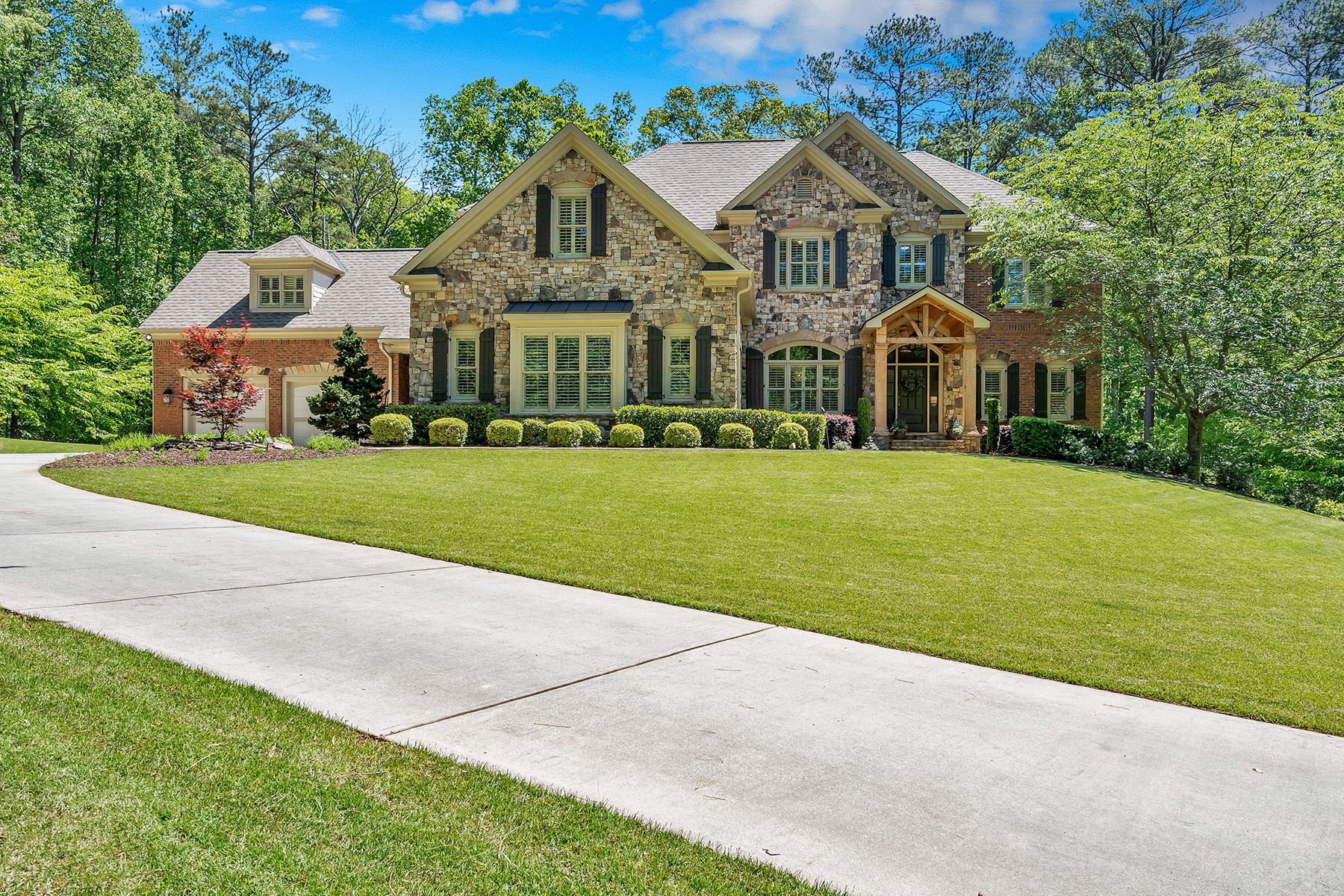 Single Family Homes for Sale at A Beautifully Appointed Home on a Premium 4.31+/- Acre Lot 794 Old Lathemtown Road Canton, Georgia 30115 United States