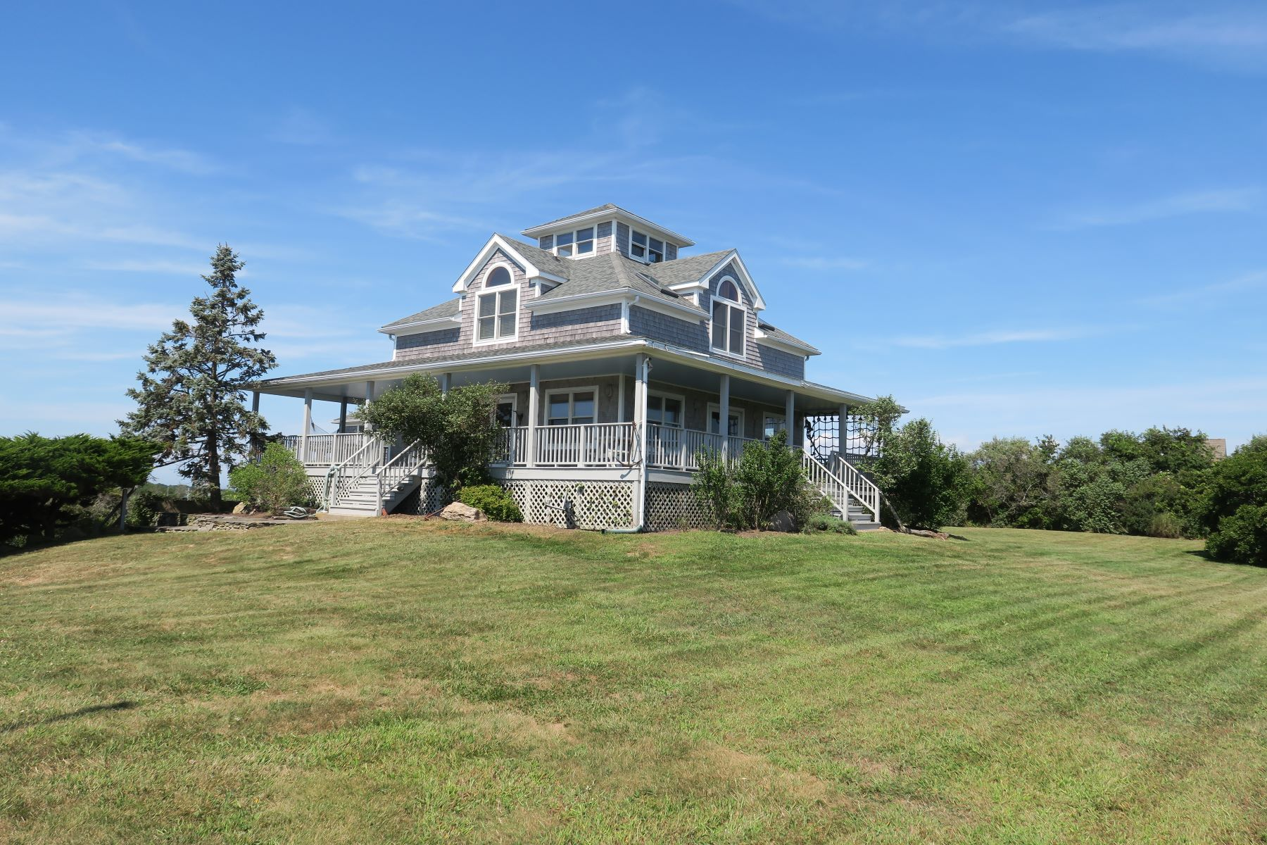 Single Family Homes for Sale at Steps from Crescent Beach 1708 Corn Neck Road PO Box 144 Block Island, Rhode Island 02807 United States