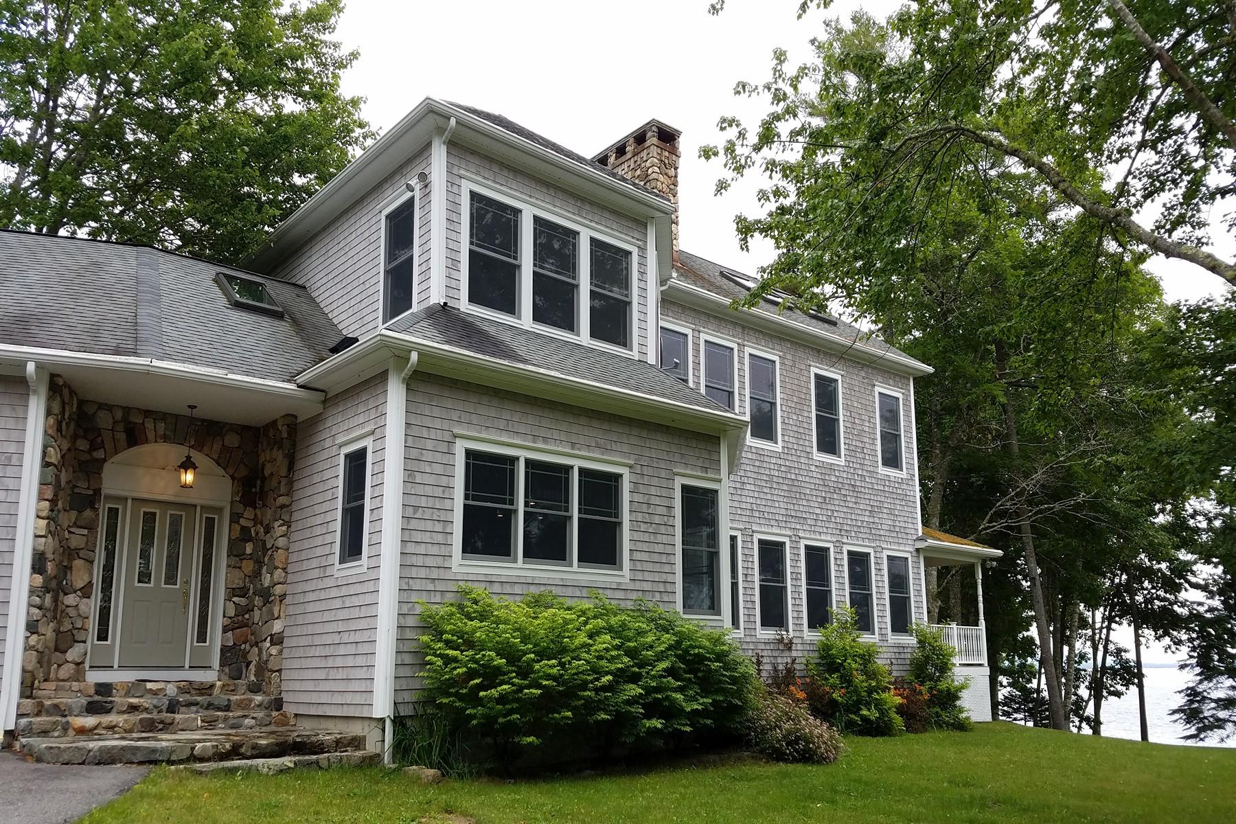 独户住宅 为 销售 在 Edgewater 34 Viking Trail Lane 萨里郡, 缅因州, 04684 美国