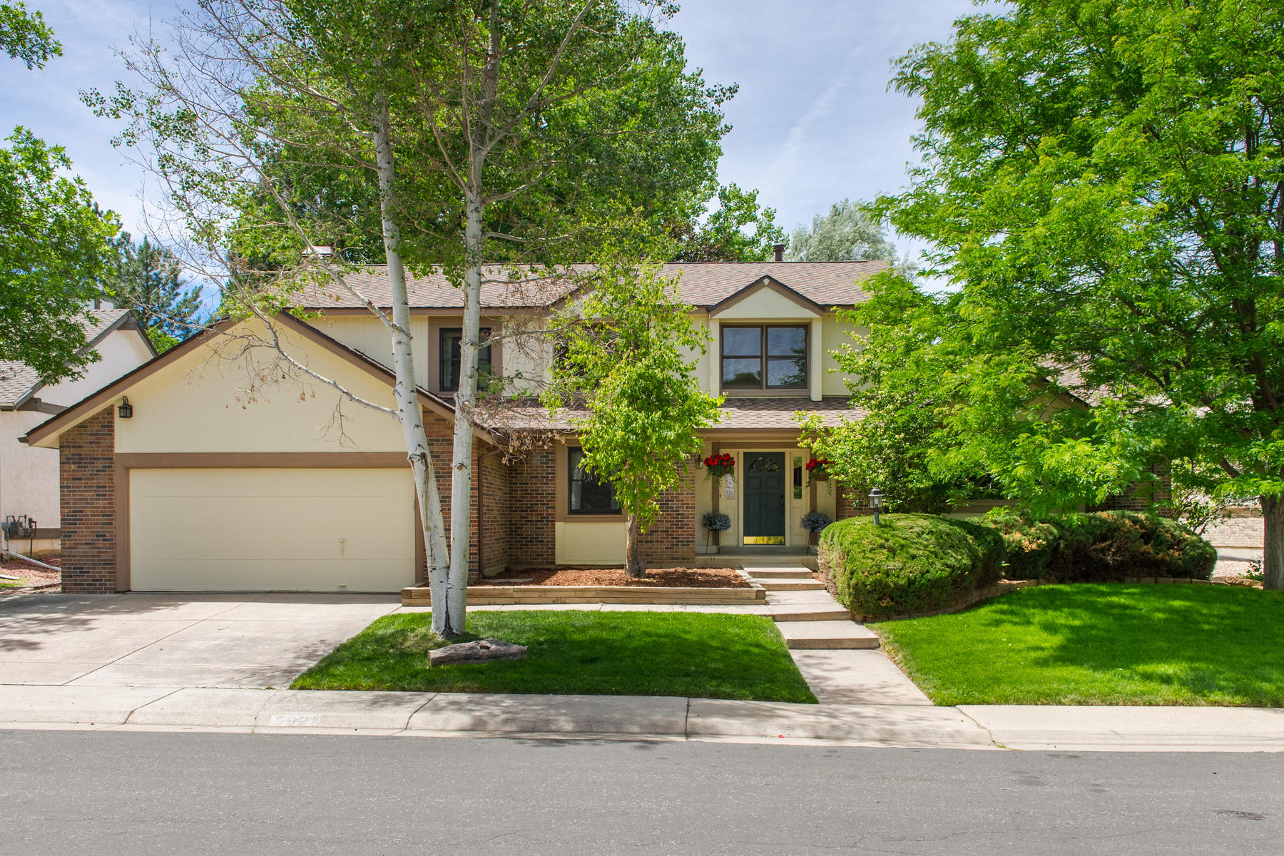 Single Family Home for Active at 5921 South Akron Way Greenwood Village, Colorado 80111 United States