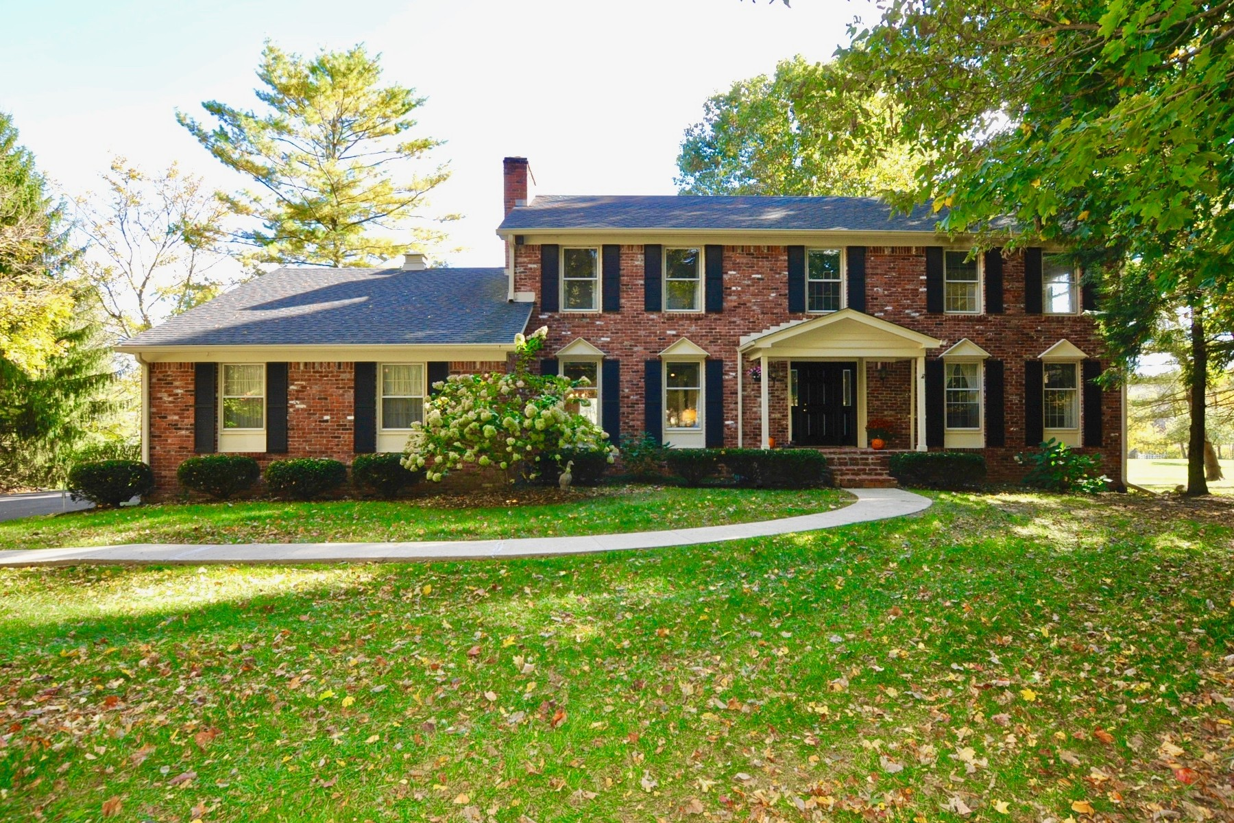 Single Family Home for Sale at Beautiful All Brick Colonial Style Home 8549 Silver Ridge Court Indianapolis, Indiana, 46278 United States