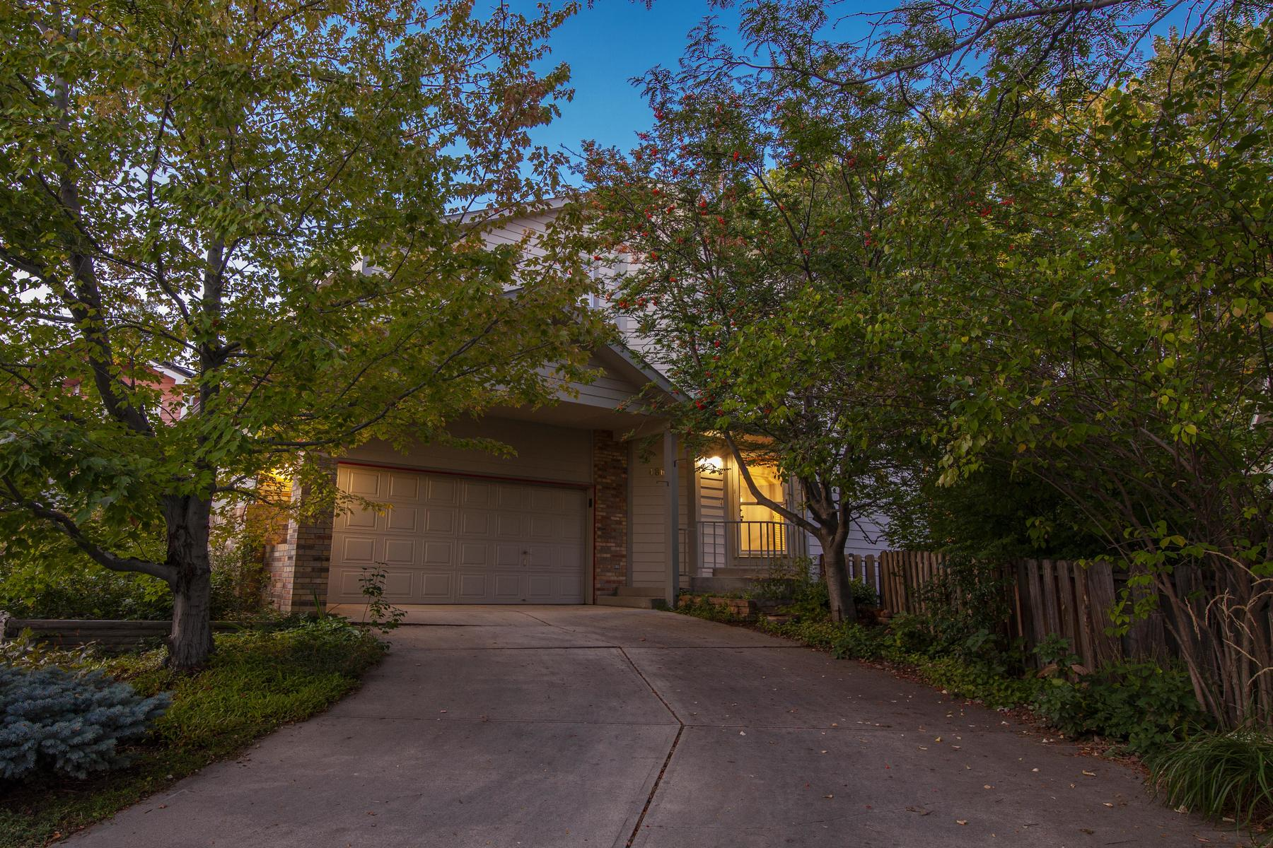 Single Family Homes for Active at Updated And Move In Ready With A Backyard Oasis 4863 Hopkins Pl Boulder, Colorado 80301 United States