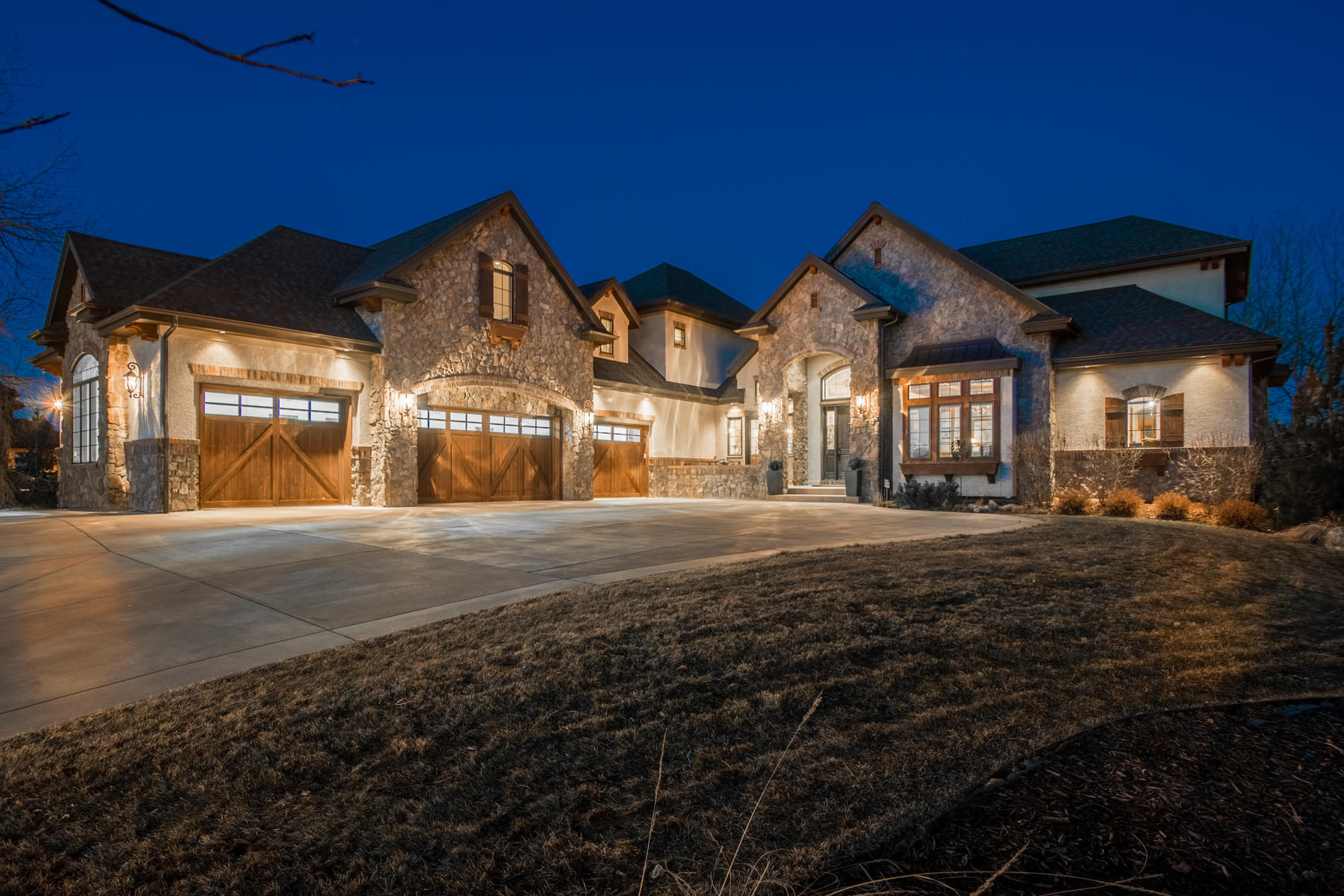 Single Family Homes for Sale at For the Discriminating Buyer, This Elegant English Manor Does Not Disappoint! 5900 S Watson Lane, Littleton, Colorado 80123 United States