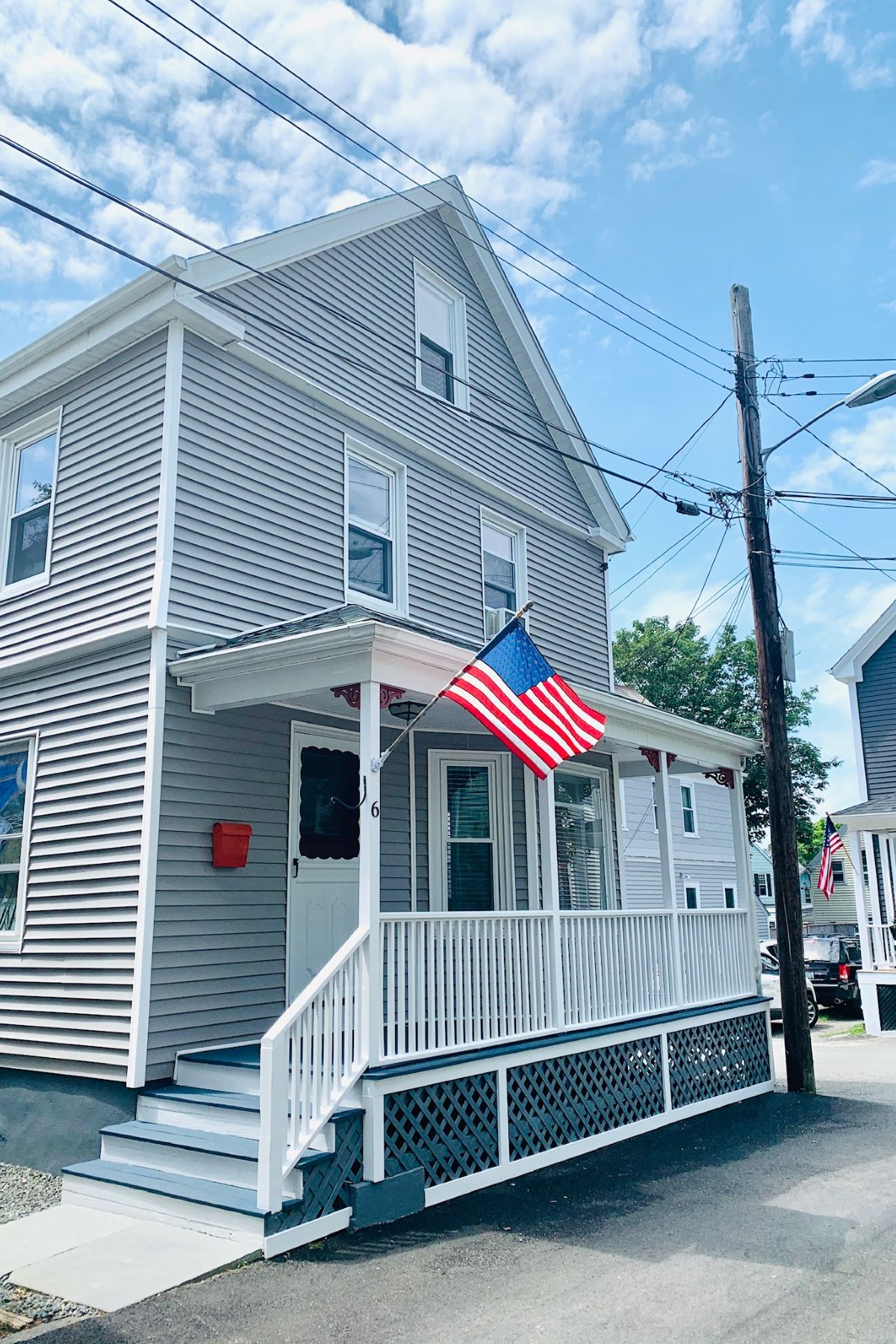 Single Family Homes for Sale at Adorable Updated Newport Cottage 6 Nicol Terrace Newport, Rhode Island 02840 United States