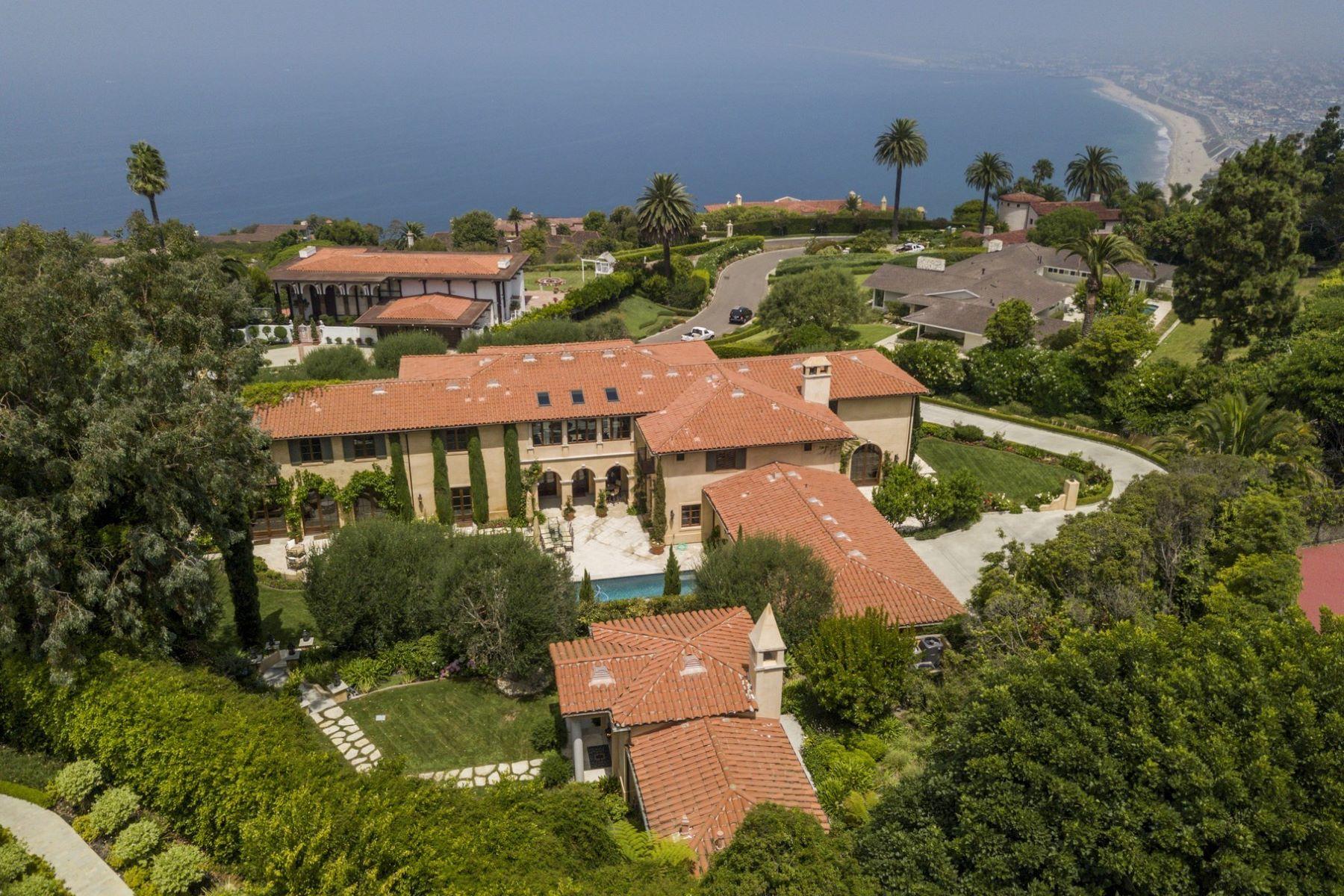 Single Family Homes por un Venta en 1108 Via Mirabel Palos Verdes Estates, California 90274 Estados Unidos