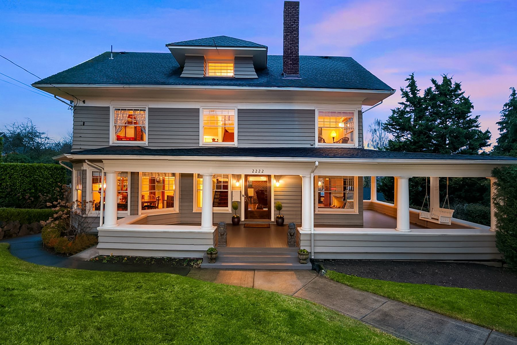 Single Family Home for Sale at 2222 Crescent Dr, Seattle 2222 E Crescent Dr Seattle, Washington 98112 United States