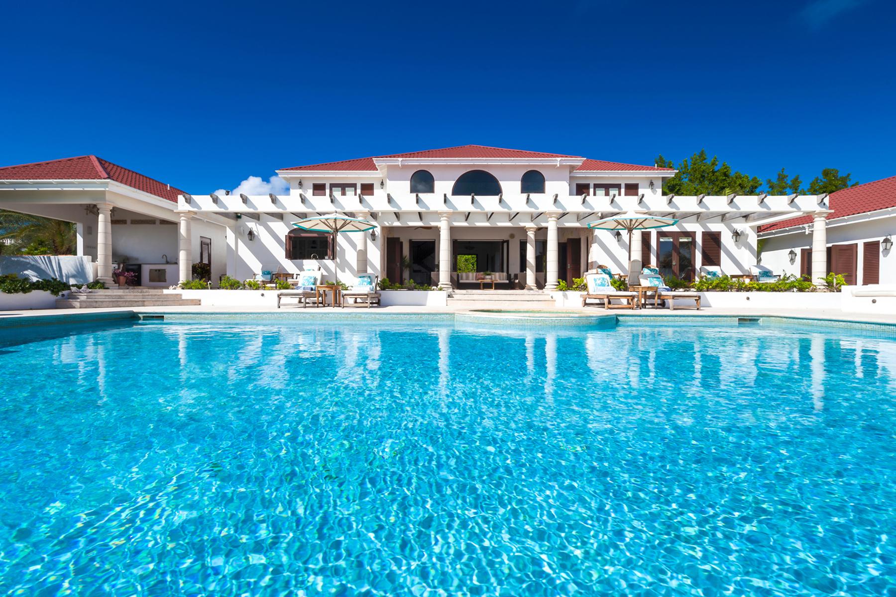 واحد منزل الأسرة للـ Rent في Villa Alegria Villa Alegria Sandy Point Beach, Cul De Sac, WEST END Anguilla