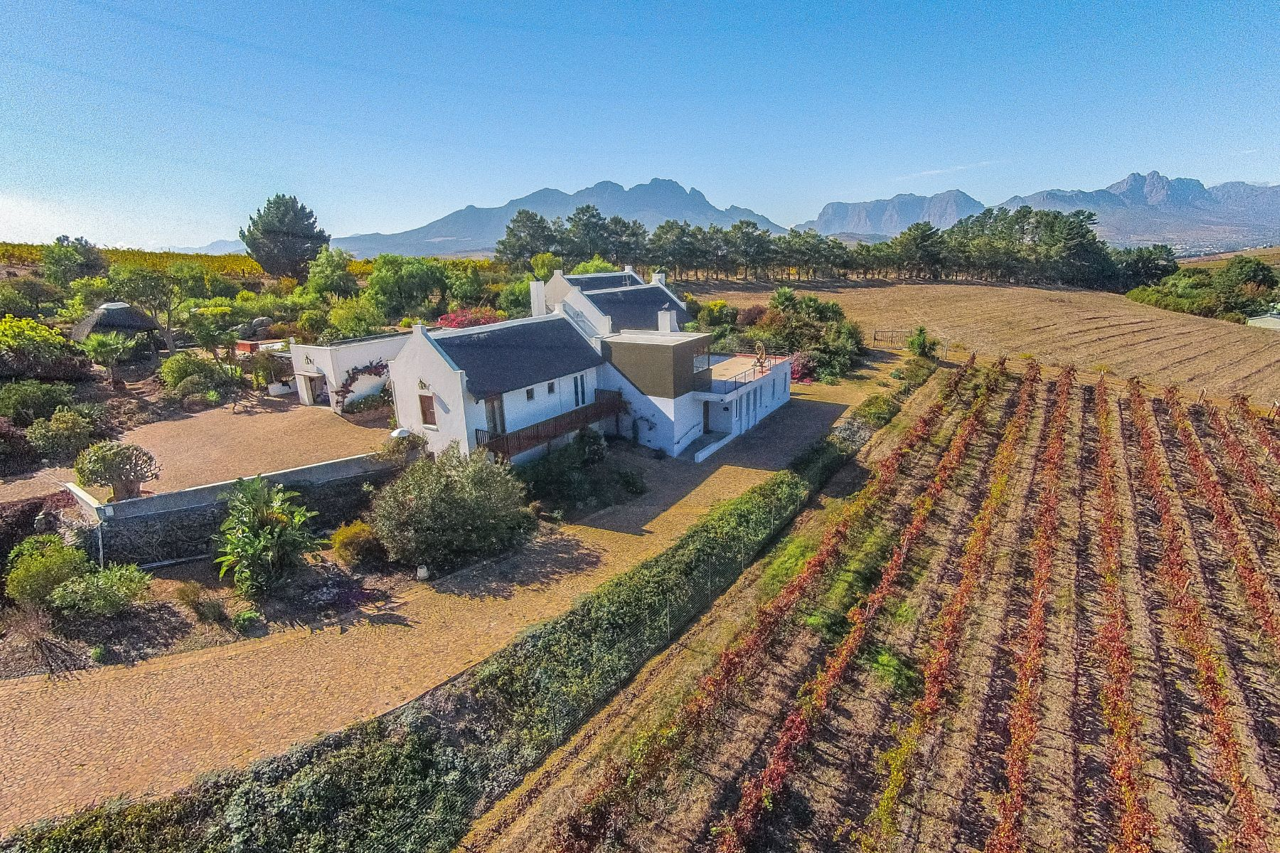 Farm / Ranch / Plantation for Sale at Breathtaking Stellenbosch Farm Stellenbosch, Western Cape, 7600 South Africa
