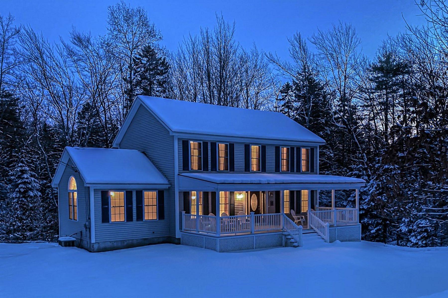Single Family Homes por un Venta en 84 King James Road, Enfield 84 King James Rd Enfield, Nueva Hampshire 03748 Estados Unidos