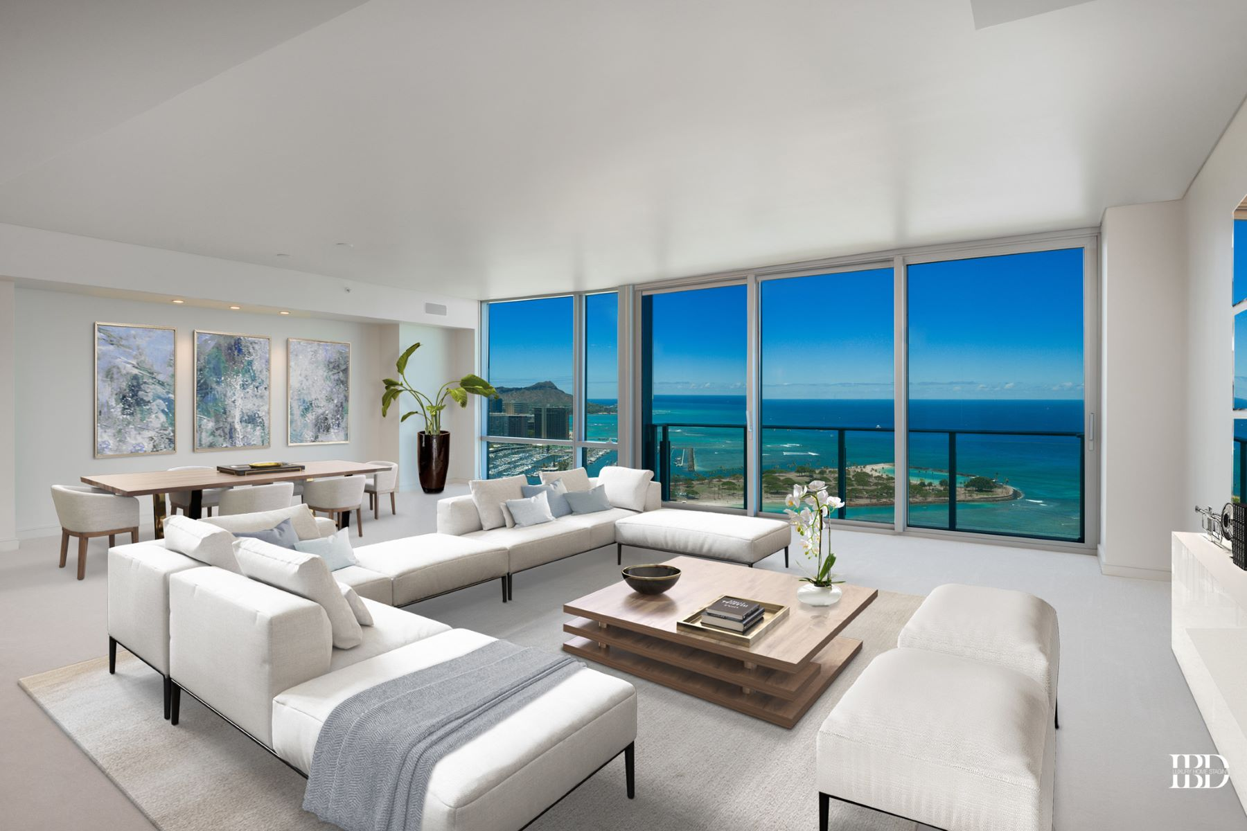 コンドミニアム のために 売買 アット Panoramic Ocean Views 1288 Ala Moana Blvd #39K Honolulu, ハワイ 96814 アメリカ合衆国