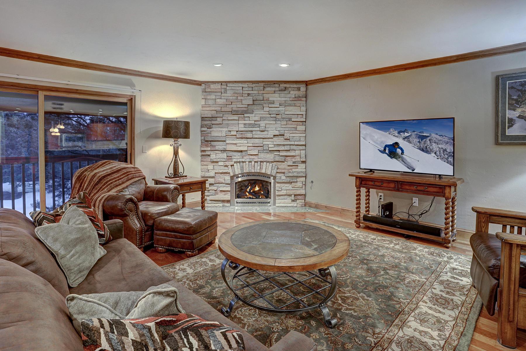 Condominiums のために 売買 アット Spacious Mountain Condo 734 Lagoon Drive #E Frisco, コロラド 80443 アメリカ