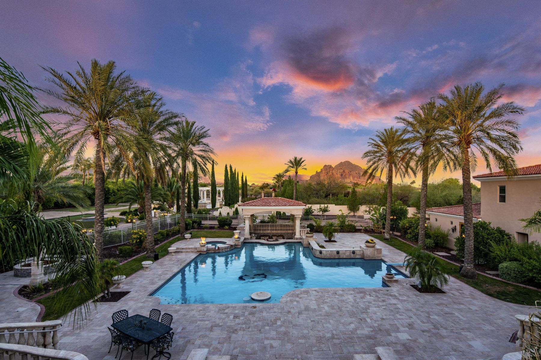 single family homes for Active at Palo Cristi Mansion 5837 N Palo Cristi Rd Paradise Valley, Arizona 85253 United States