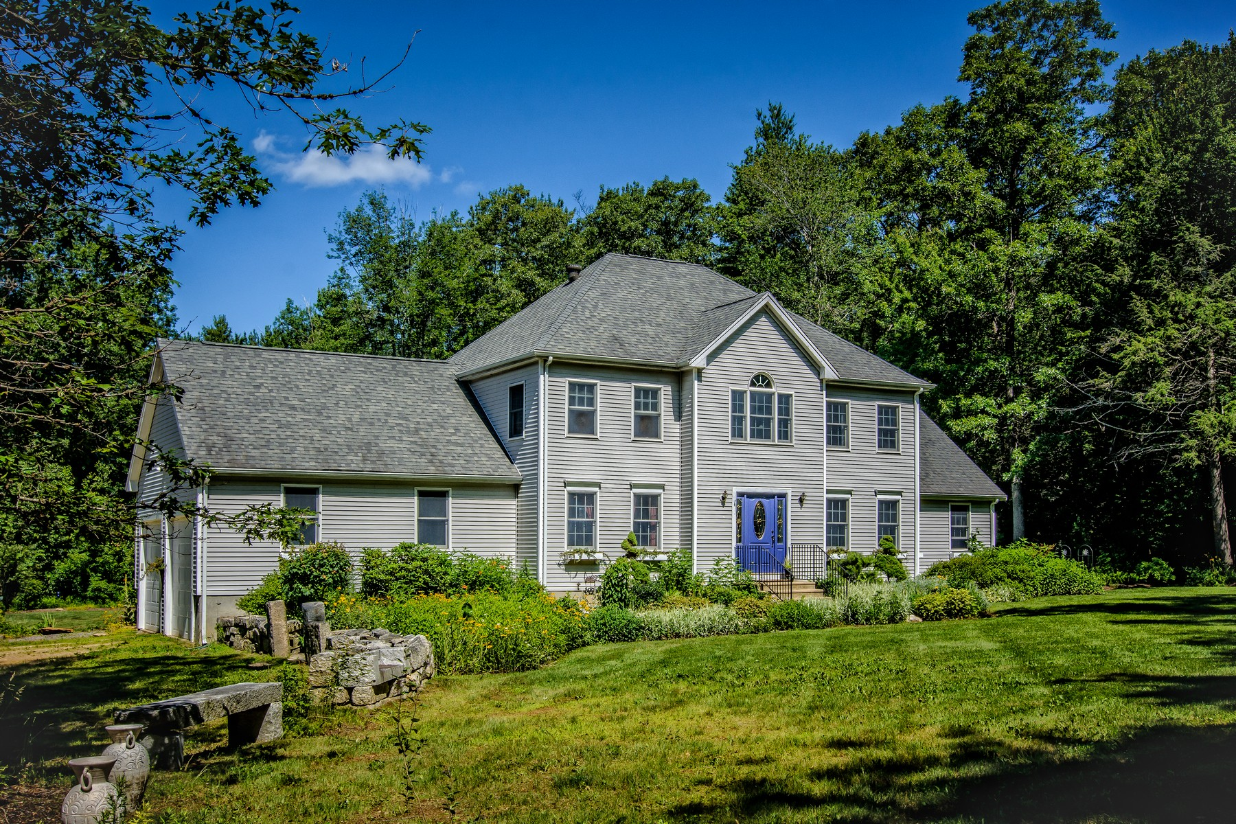 Single Family Home for Active at Unique Country Retreat 33 Molasses Hill Road Brookfield, Massachusetts 01506 United States