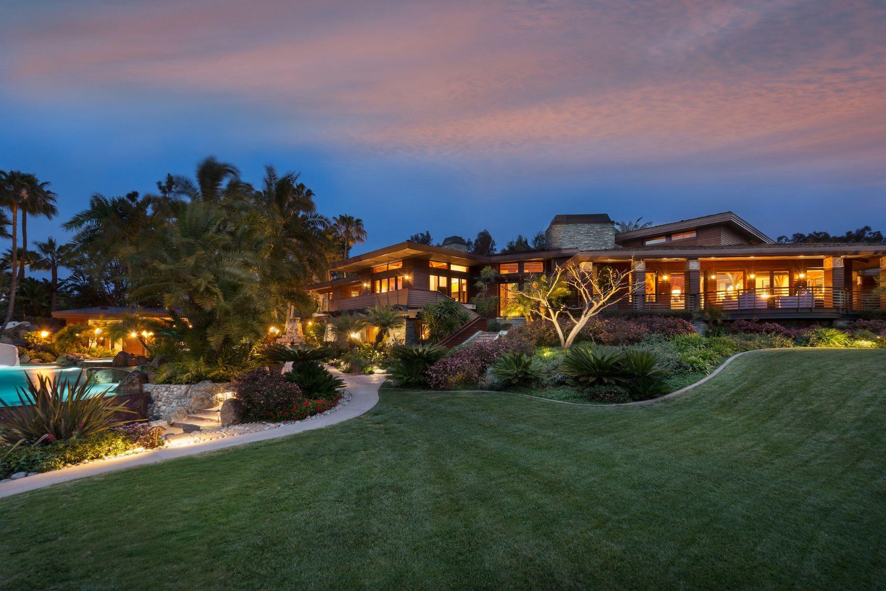 Single Family Homes for Sale at 4840 El Secreto Rancho Santa Fe, California 92067 United States