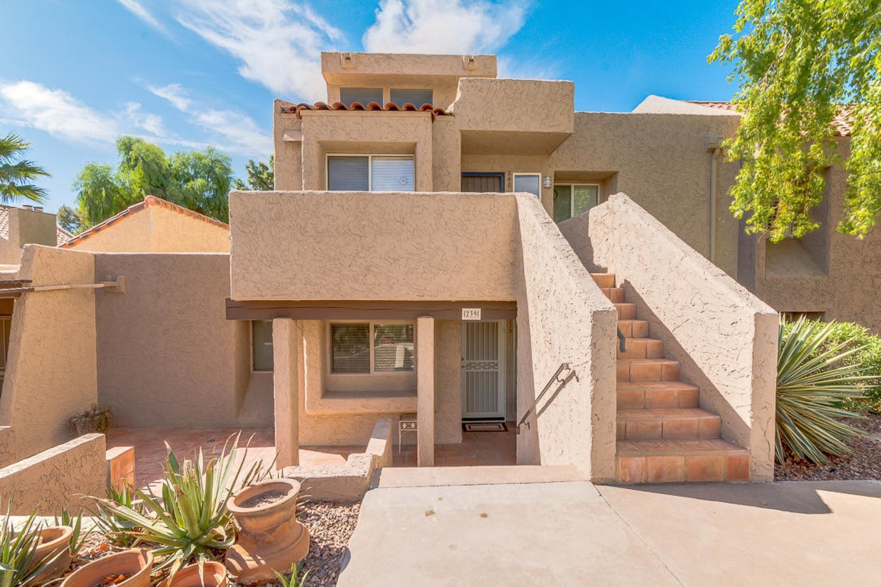 Townhouse for Rent at Fantastic Furnished Single level townhome 7340 N VIA CAMELLO DEL NORTE ST 239, Scottsdale, Arizona 85258 United States