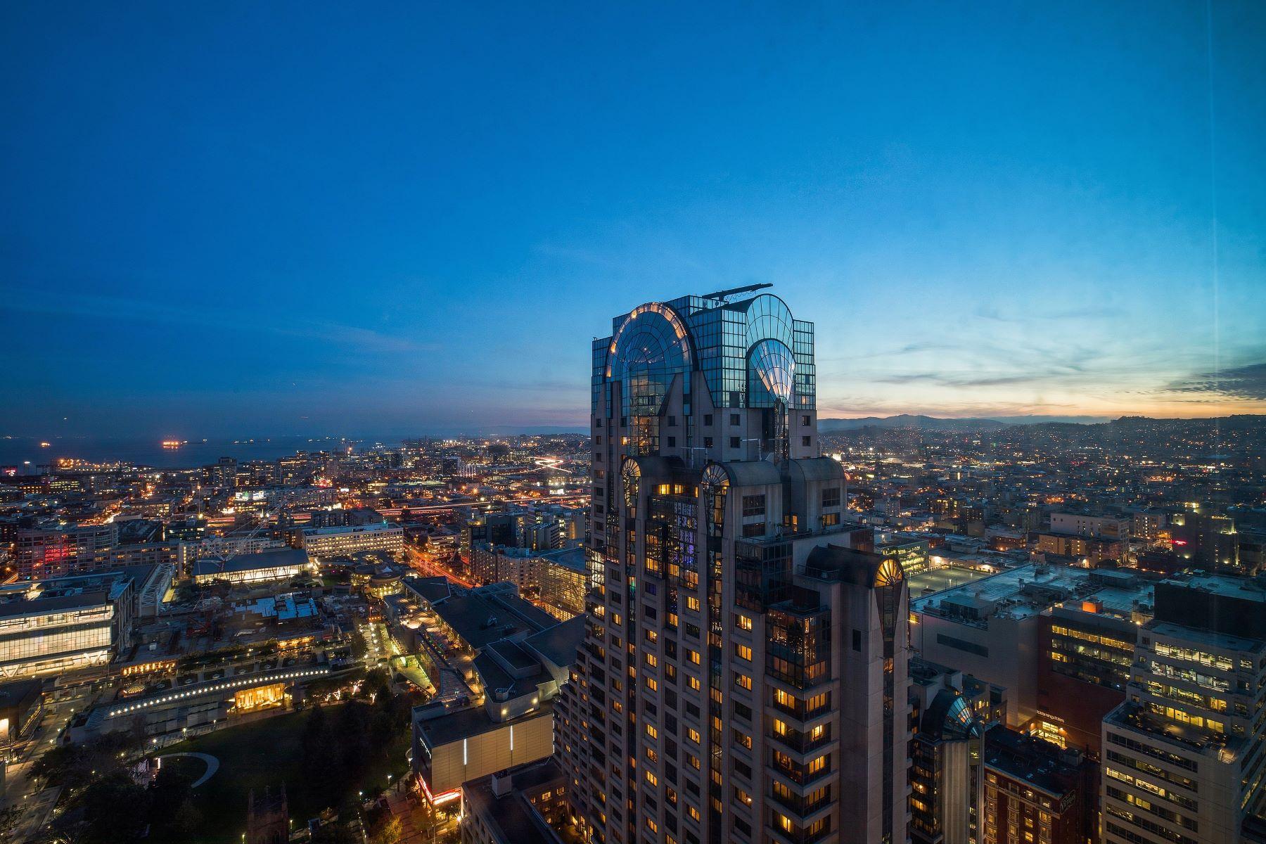 콘도미니엄 용 매매 에 Prestigious Four Seasons Residence 765 Market Street #36H, San Francisco, 캘리포니아, 94103 미국