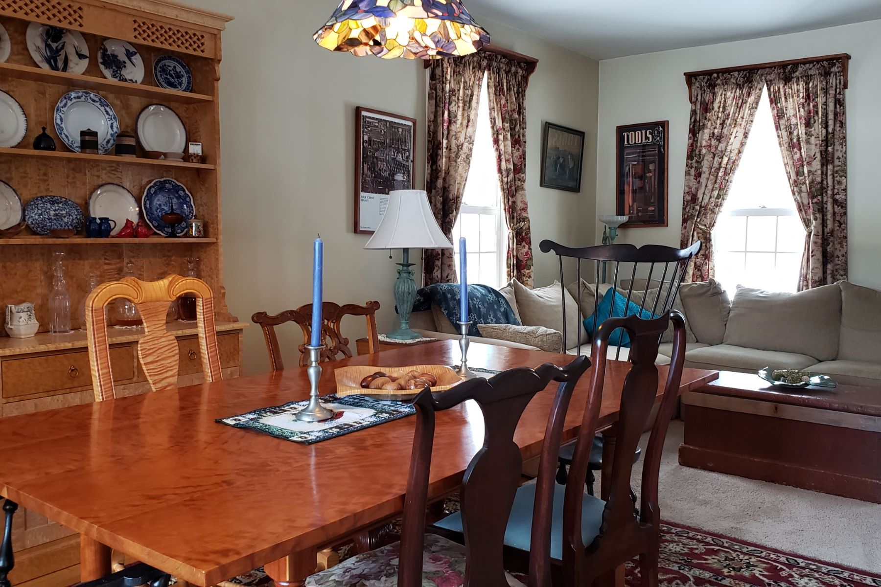 Single Family Homes for Sale at Three Bedroom New Englander in East Ryegate 134 South Bayley Hazen Road Ryegate, Vermont 05042 United States