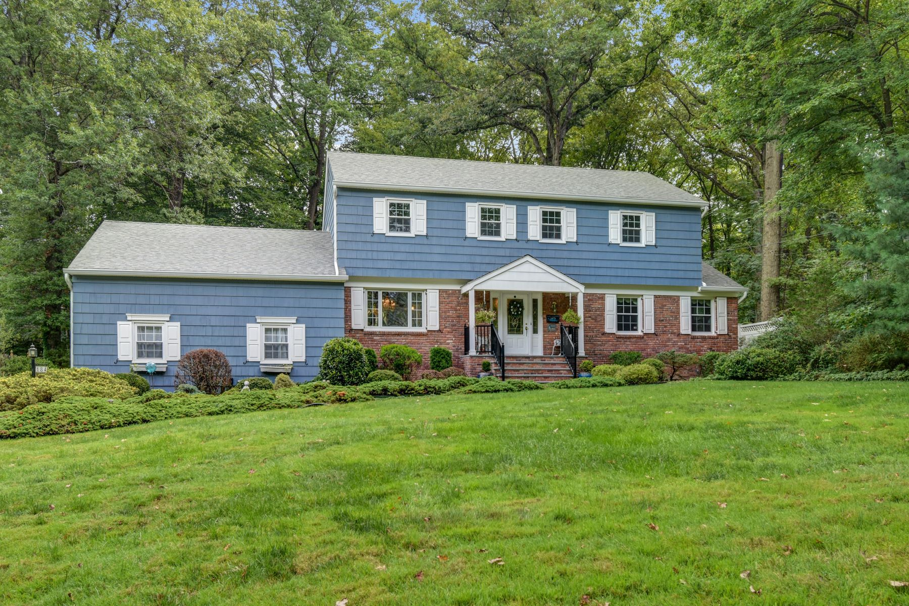 Single Family Homes for Sale at Well Maintained Colonial 184 Princeton Avenue Berkeley Heights, New Jersey 07922 United States