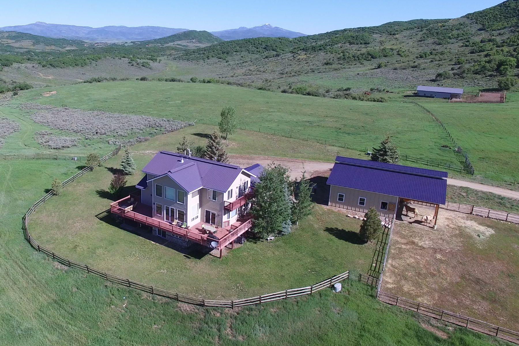 Einfamilienhaus für Verkauf beim 35 Acre Equestrian Property 44000 Diamondback Way Steamboat Springs, Colorado, 80487 Vereinigte Staaten