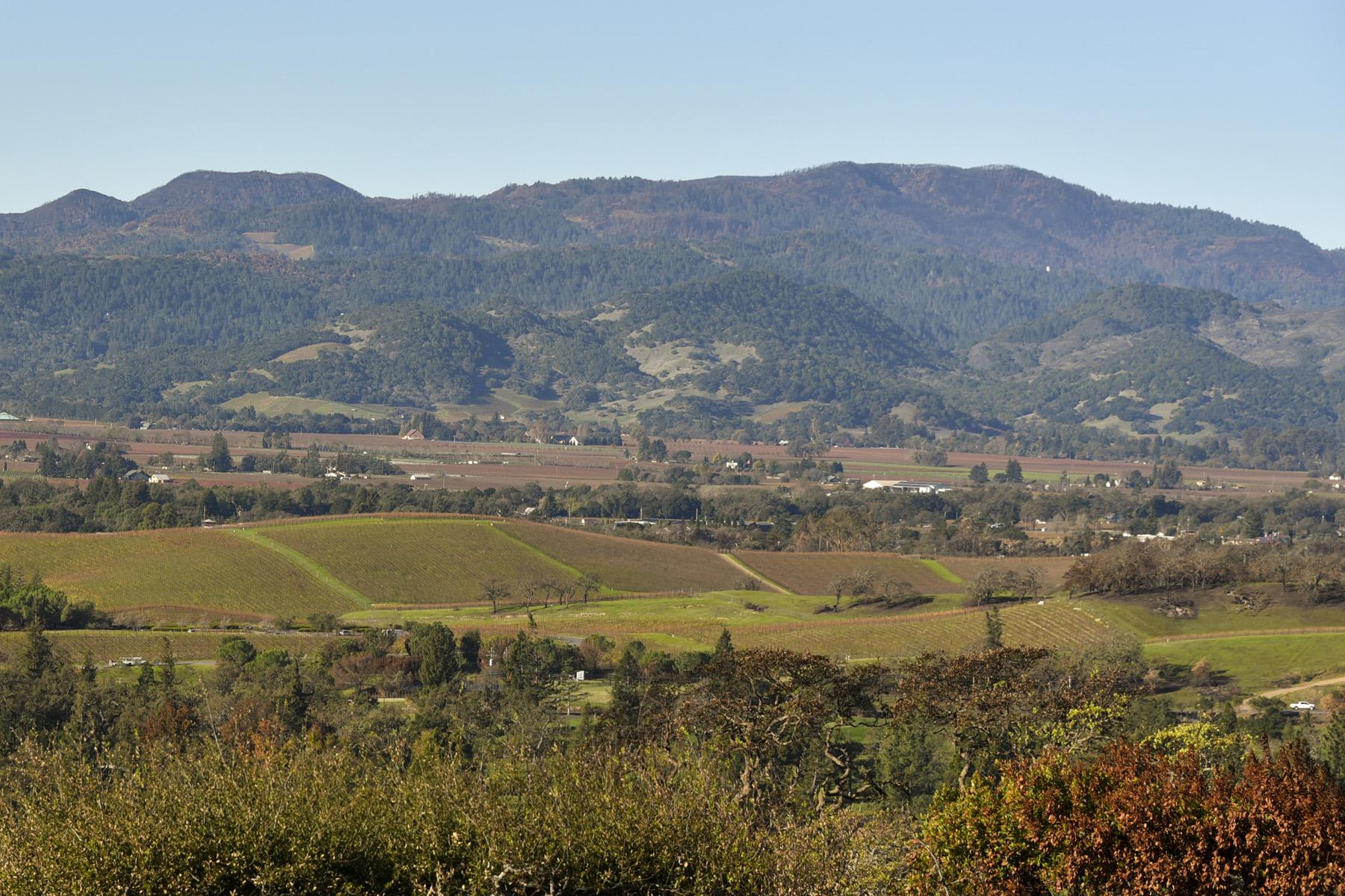 Земля для того Продажа на Panoramic Views of the Valley 337 Alta Mesa Circle Napa, Калифорния 94558 Соединенные Штаты
