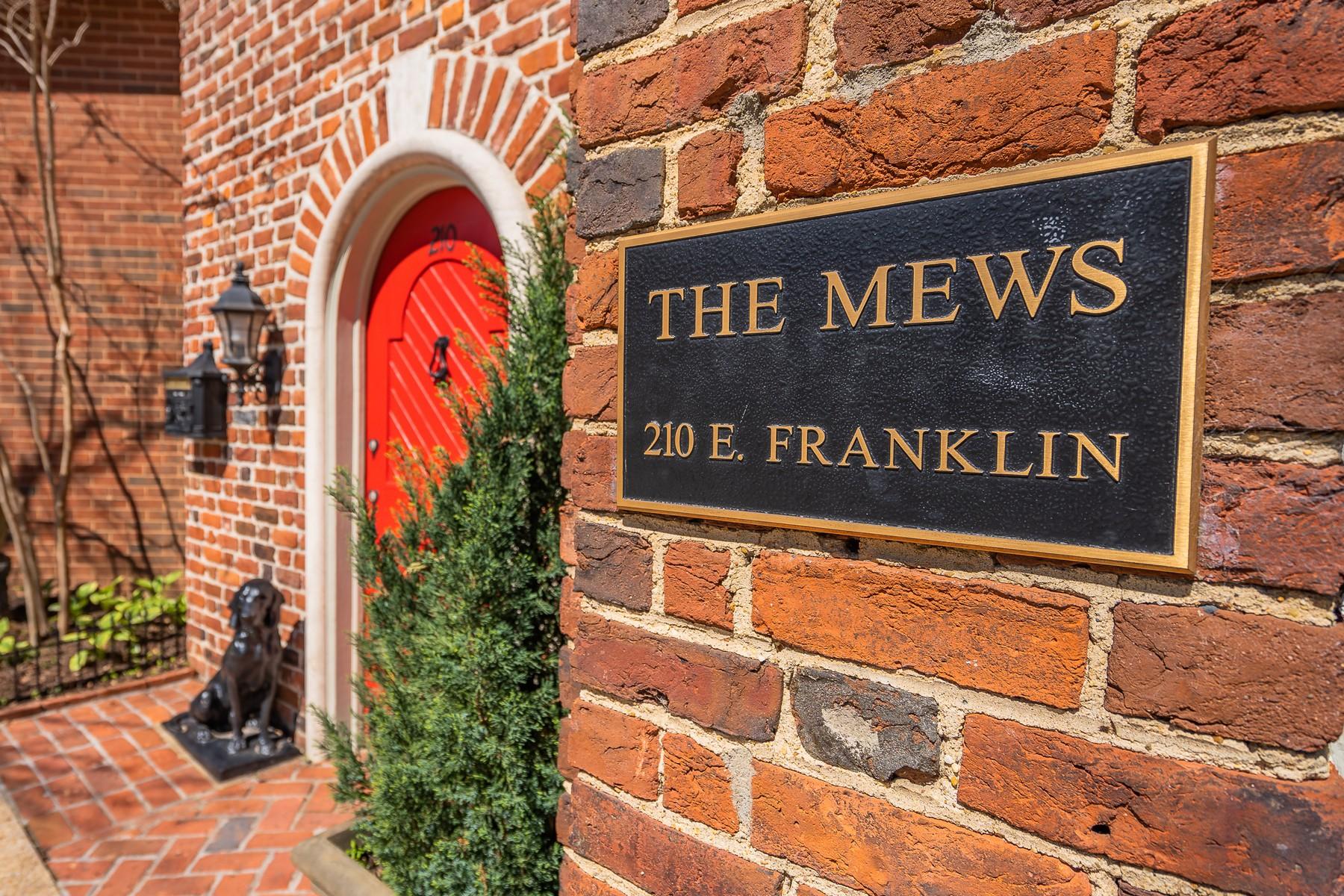 Condominiums for Active at The Mews Condominiums 210 E. Franklin Street Richmond, Virginia 23219 United States