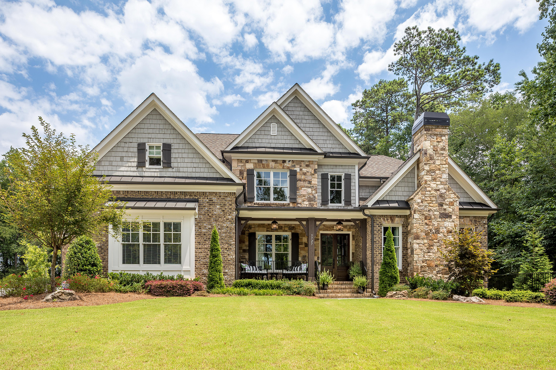 Single Family Homes for Active at Recently Built Home on Private 1.5+/- Acre Lot Inside the Perimeter 5727 Long Island Drive Sandy Springs, Georgia 30327 United States