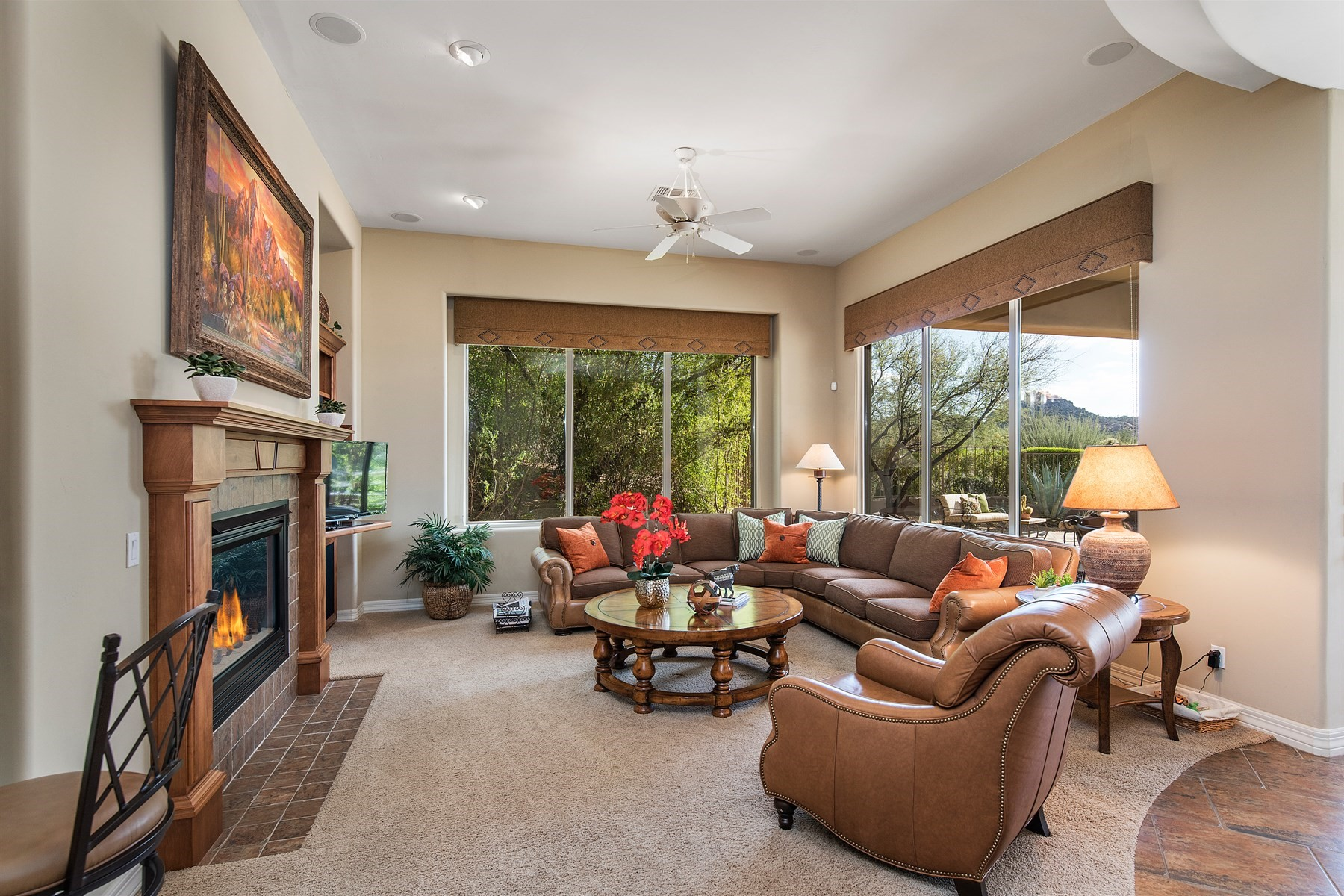 Single Family Home for Sale at Gorgeous Arizona home with Amazing Views of Pinnacle Peak in Troon North 10439 E Monument Drive, Scottsdale, Arizona, 85262 United States