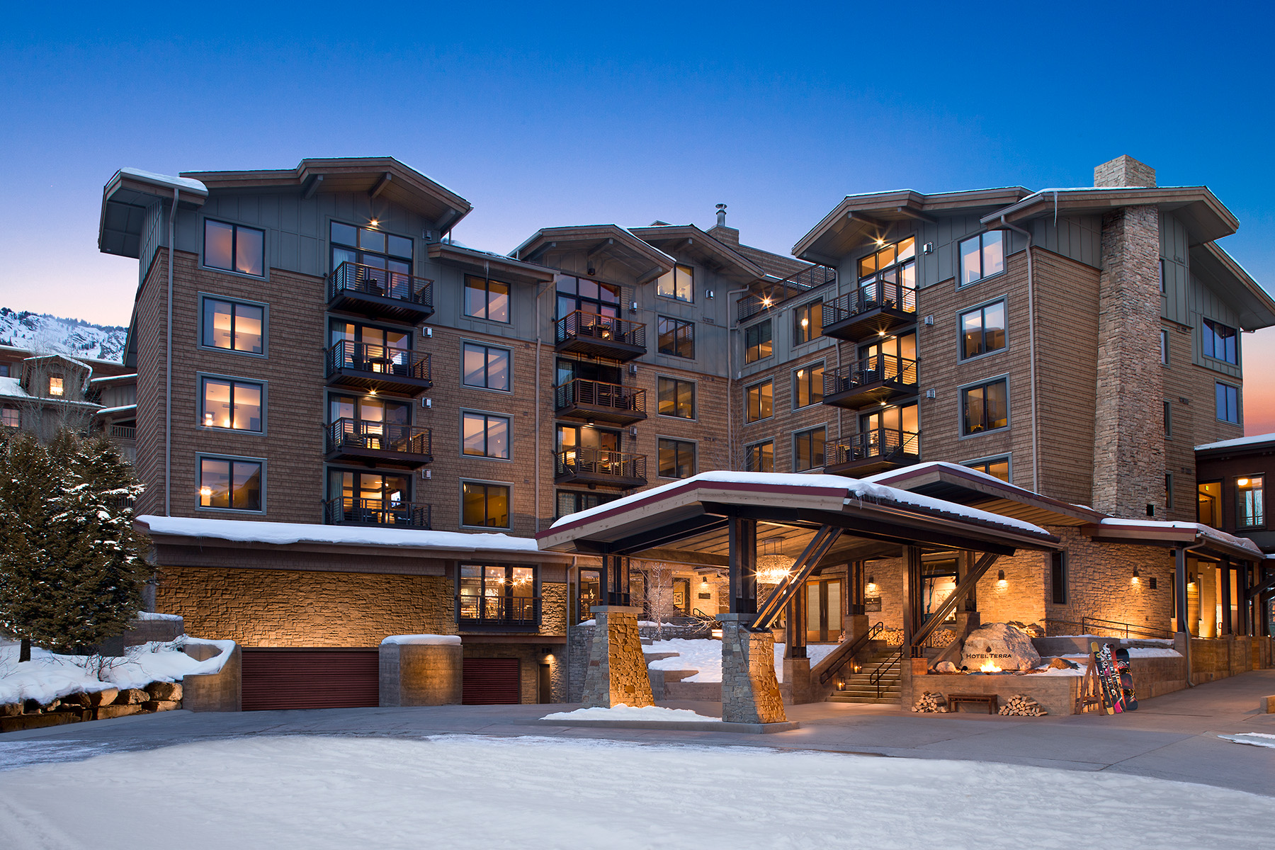 Condominio por un Venta en Mountain Side Hotel Terra Two Bedroom 3335 W VILLAGE DR 204, Teton Village, Wyoming, 83025 Jackson Hole, Estados Unidos