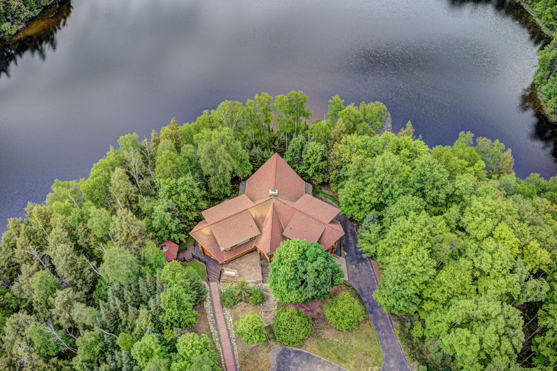 Single Family Homes for Active at 7163 Peninsula Road Presque Isle, Wisconsin 54557 United States