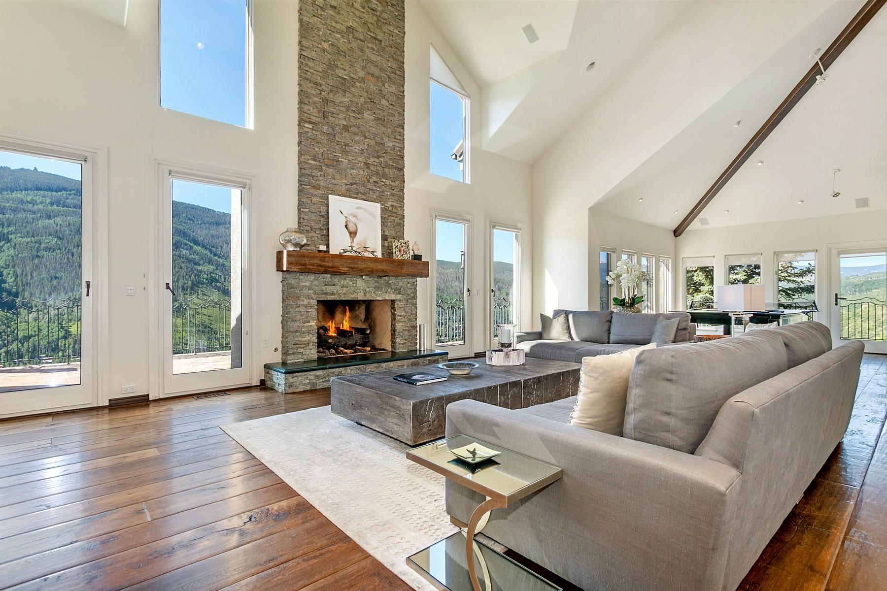 Einfamilienhaus für Verkauf beim Magnificent views of the Gore Range Mountains 1675 Aspen Ridge Road Vail, Colorado, 81657 Vereinigte Staaten