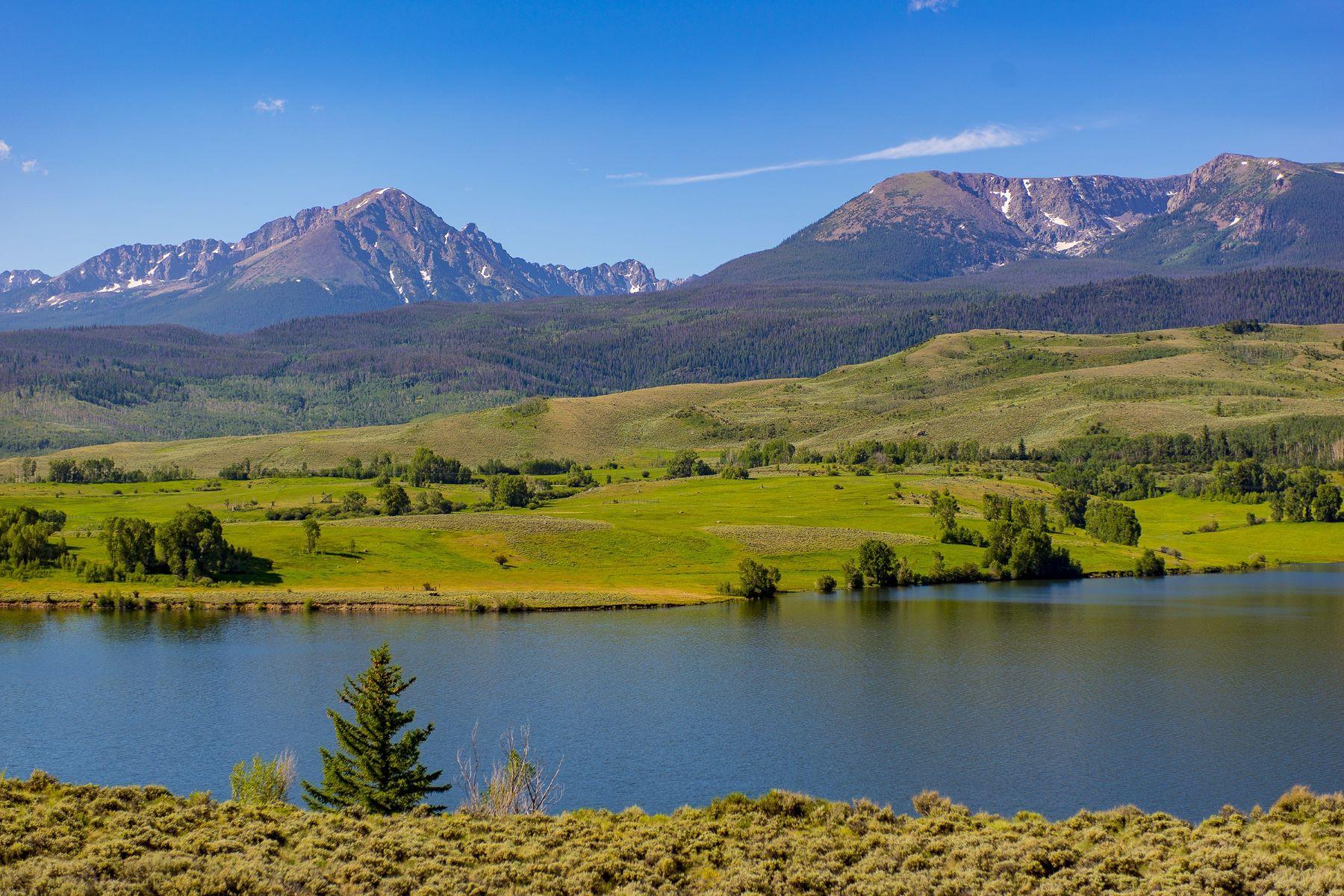 Terreno por un Venta en Knorr Lakeside Ranch TBD County Road 30 Silverthorne, Colorado 80498 Estados Unidos