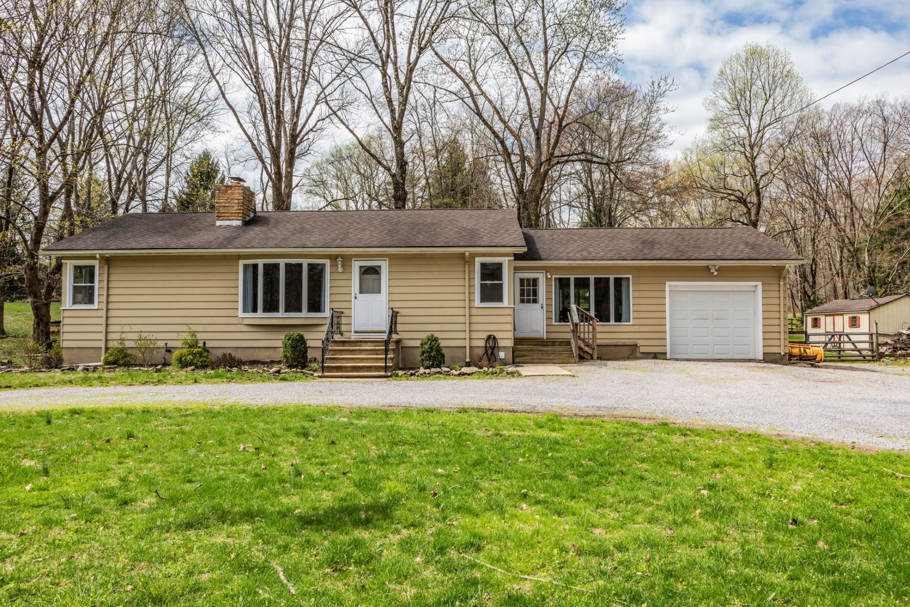 Single Family Home for Sale at A Modern Reinvention Both Inside And Out 87 Old Croton Road, Flemington, New Jersey 08822 United States