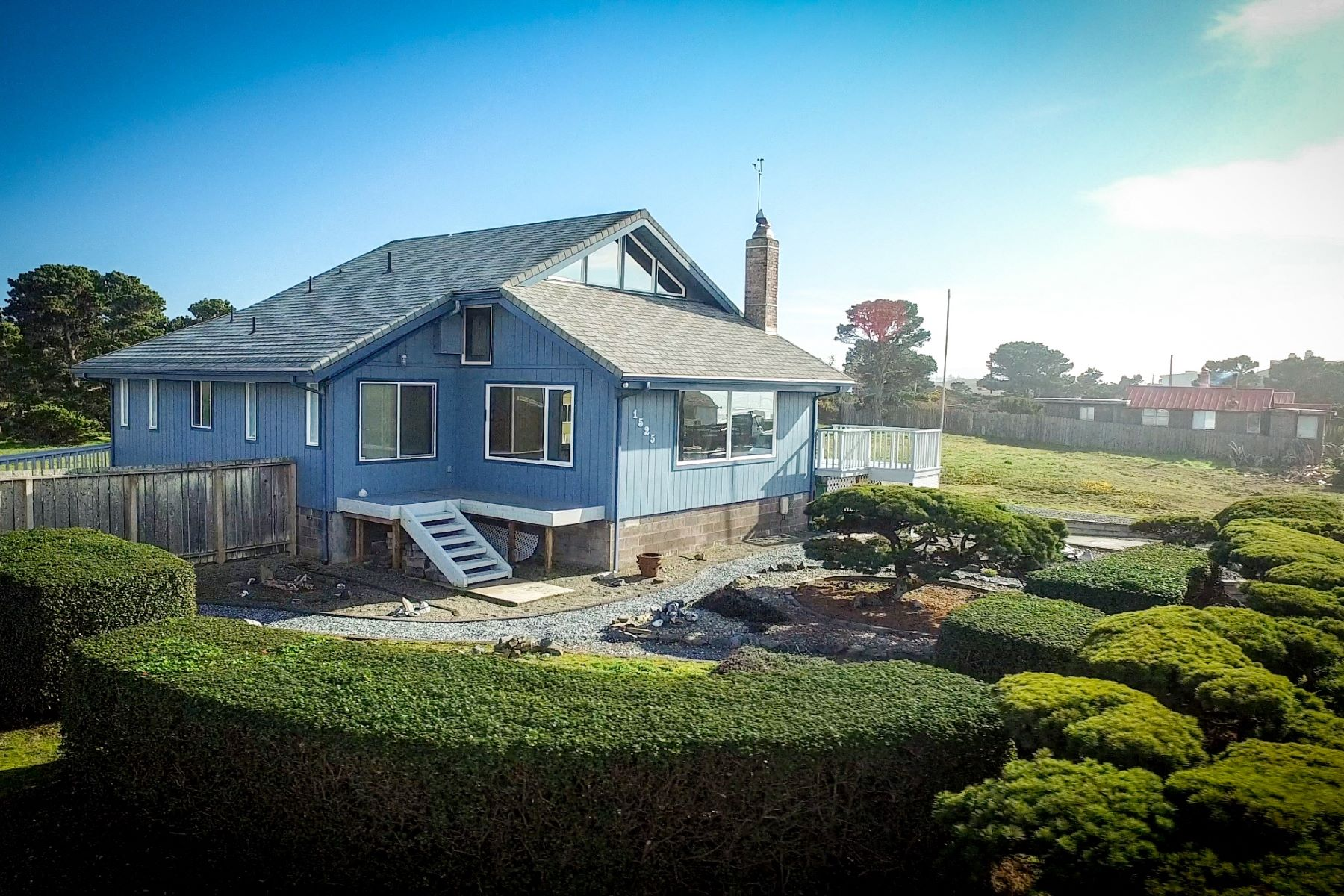 Single Family Home for Sale at Ocean View Home on Beach Loop Drive 1525 Beach Loop Road, Bandon, Oregon, 97411 United States