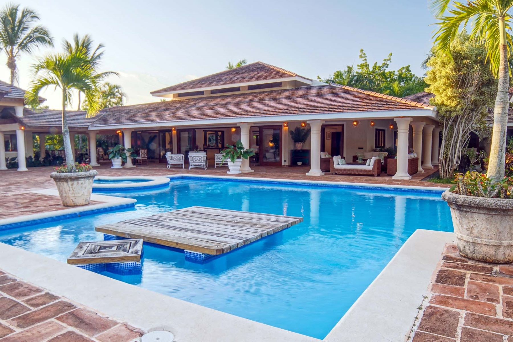 Single Family Home for Sale at One-Level Mansion next to the Beach on Extra-Large home site Casa De Campo, La Romana Dominican Republic