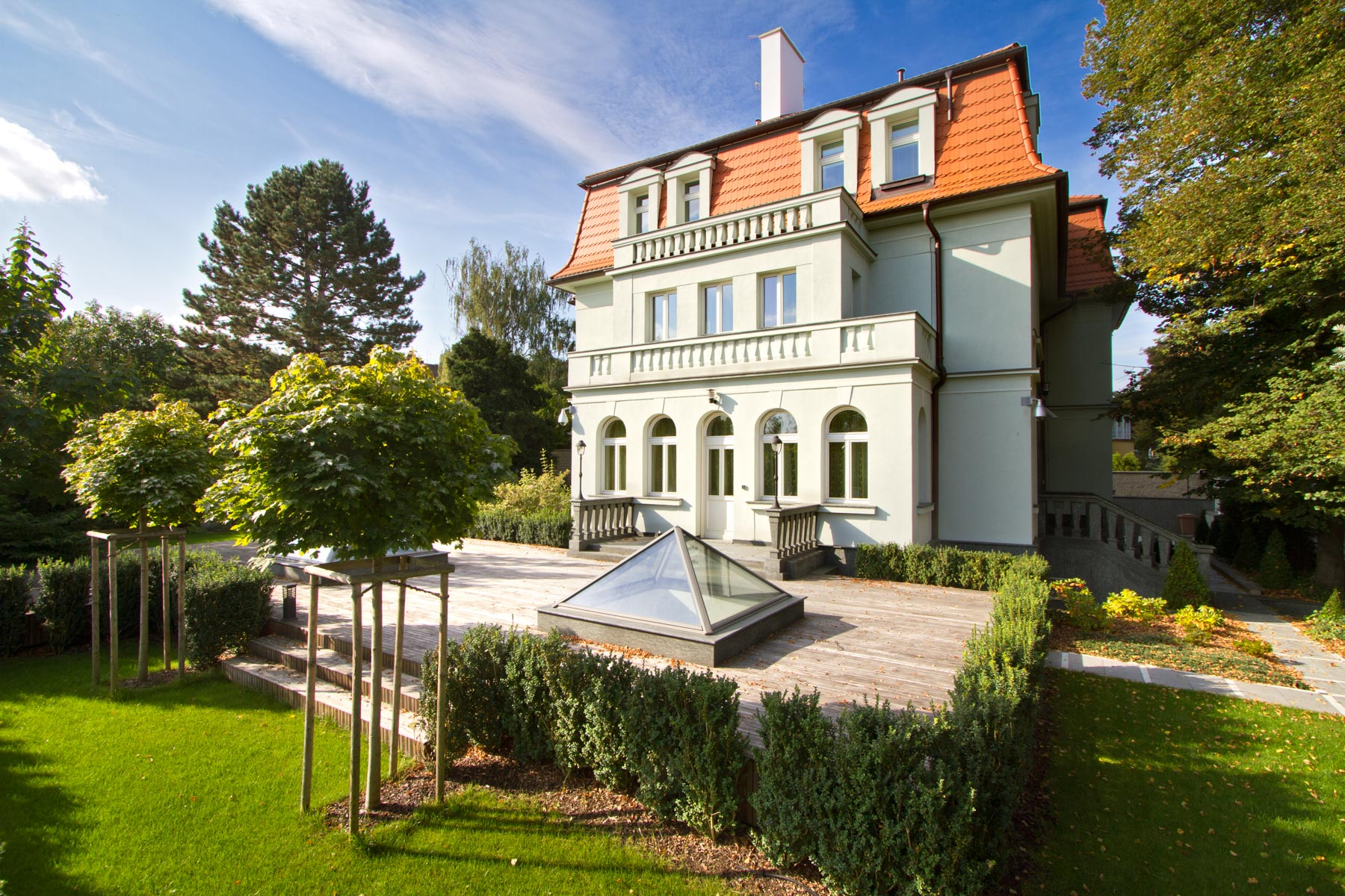 Single Family Home for Sale at Ambassador's villa in a diplomatic district of Prague Rooseveltova, Prague, Prague, 16000 Czech Republic