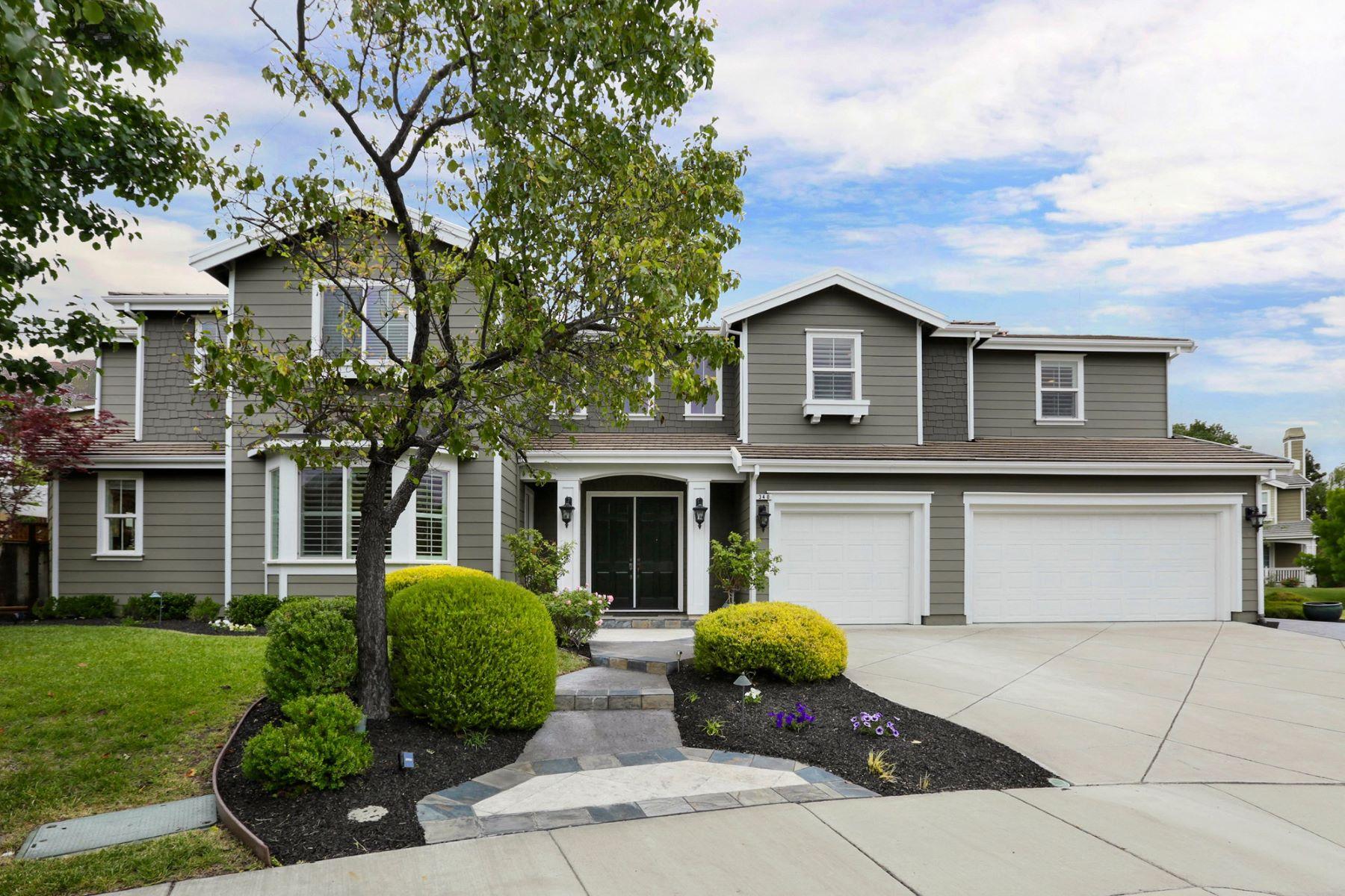 Single Family Home for Sale at 340 MULLIN CT., PLEASANTON, CA Pleasanton, California 94566 United States