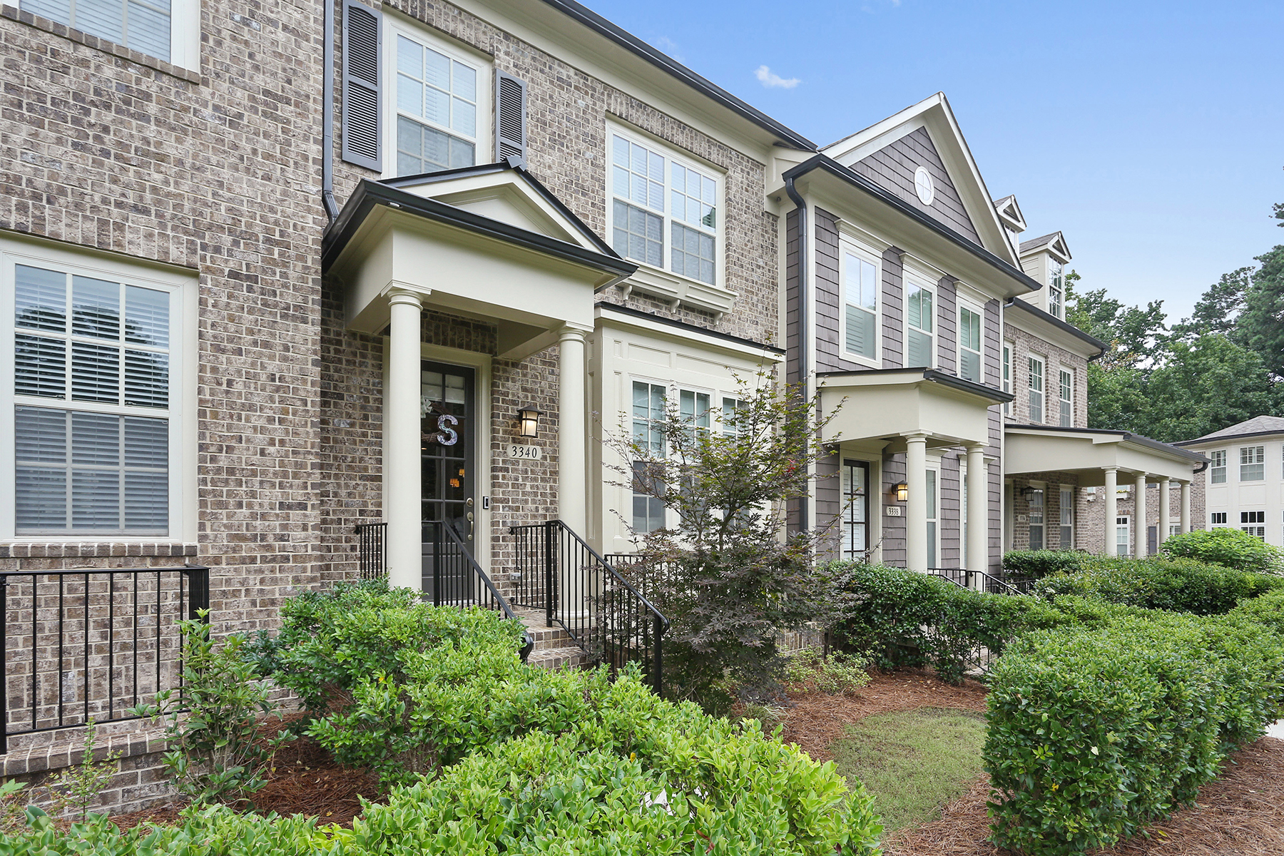 Townhouse for Sale at Gracious Gated Townhouse 3340 Turngate Ct Atlanta, Georgia 30341 United States