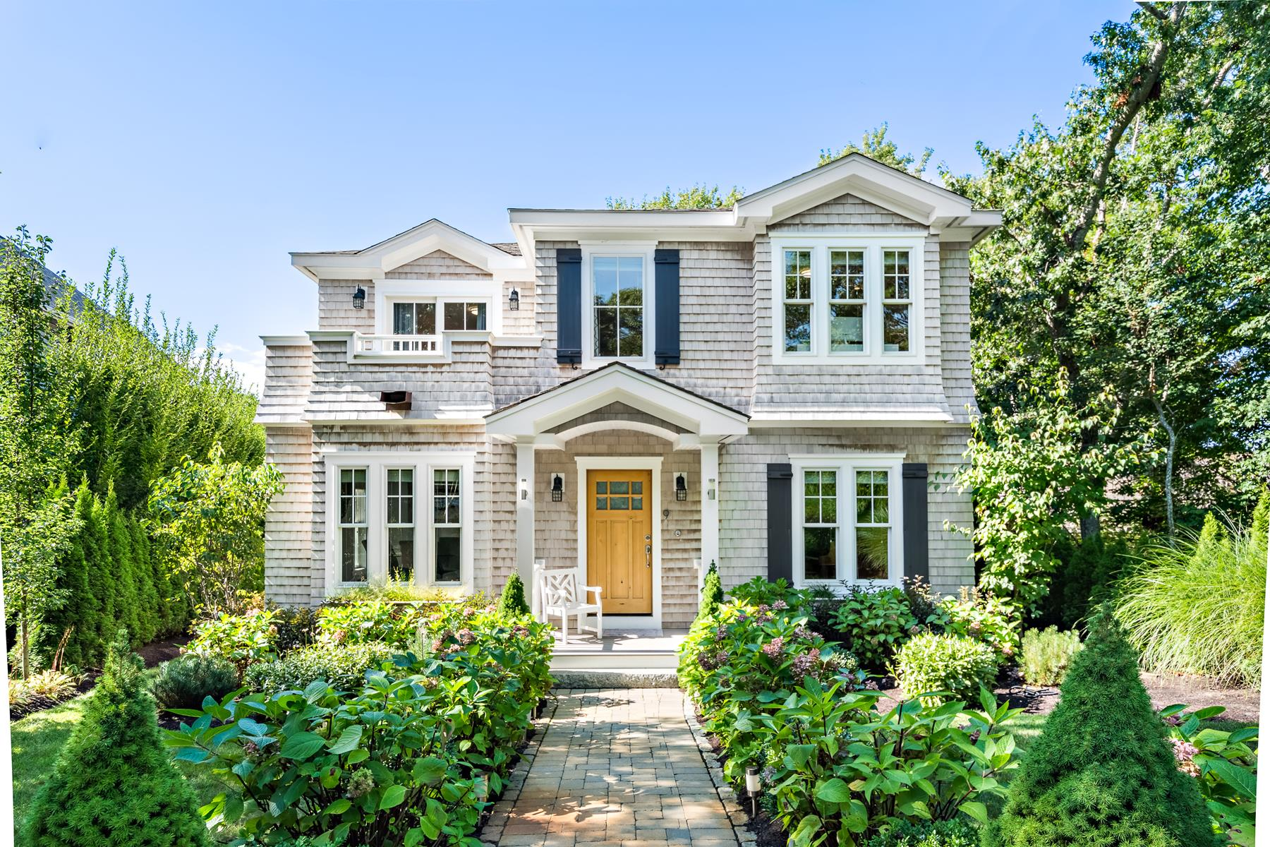 Single Family Homes for Active at Grandeur and Elegance 9 Willow Drive Provincetown, Massachusetts 02657 United States