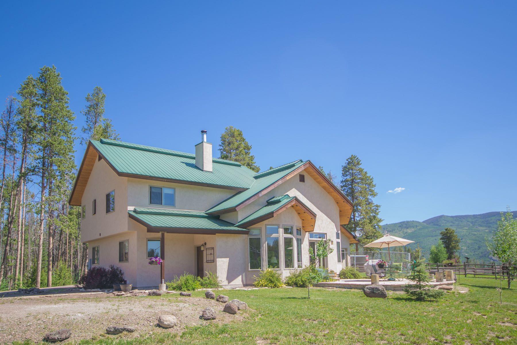 واحد منزل الأسرة للـ Sale في Fantastic Steamboat Area Horse Property 21200 County Road 16 Oak Creek, Colorado, 80467 United States