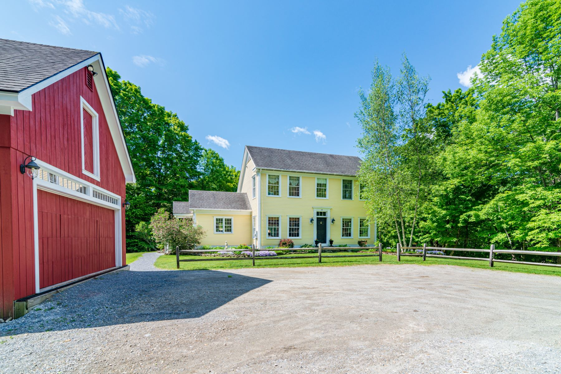 Single Family Homes for Sale at Center Hall Colonial Gem 25 Hemlock Ridge Road Manchester, Vermont 05255 United States